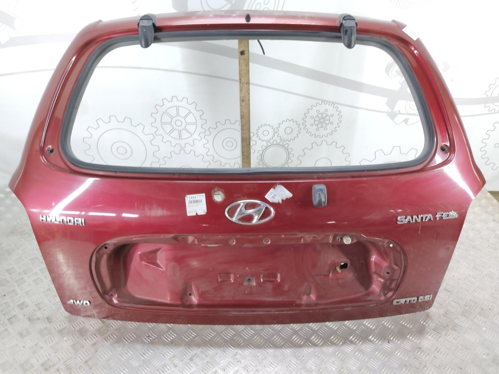 Крышка багажника (дверь 3-5) Hyundai Santa Fe 2.0 2003 (б/у)
