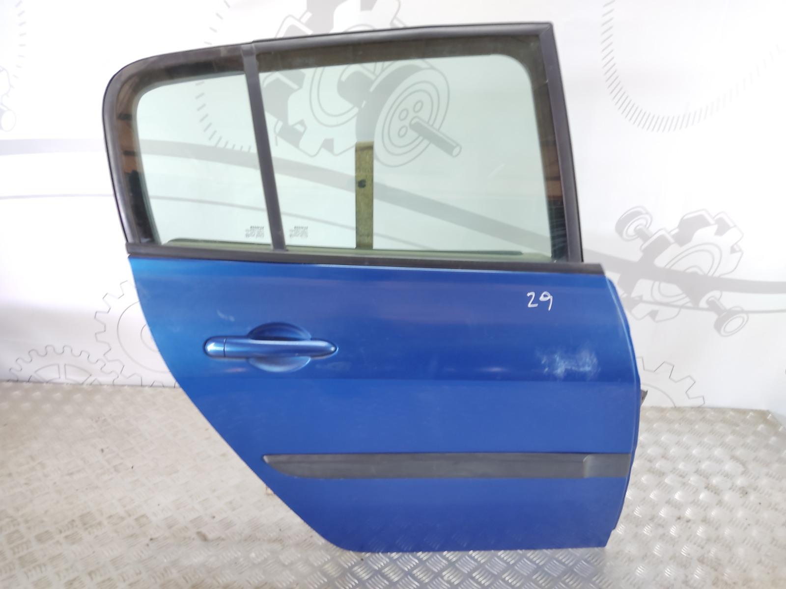 Дверь задняя правая Renault Megane 1.6 I 2005 (б/у)