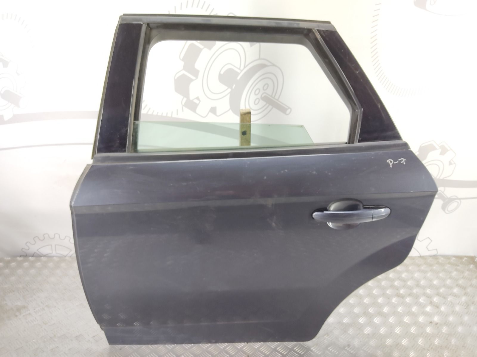 Дверь задняя левая Ford Mondeo 2.0 TDCI 2010 (б/у)