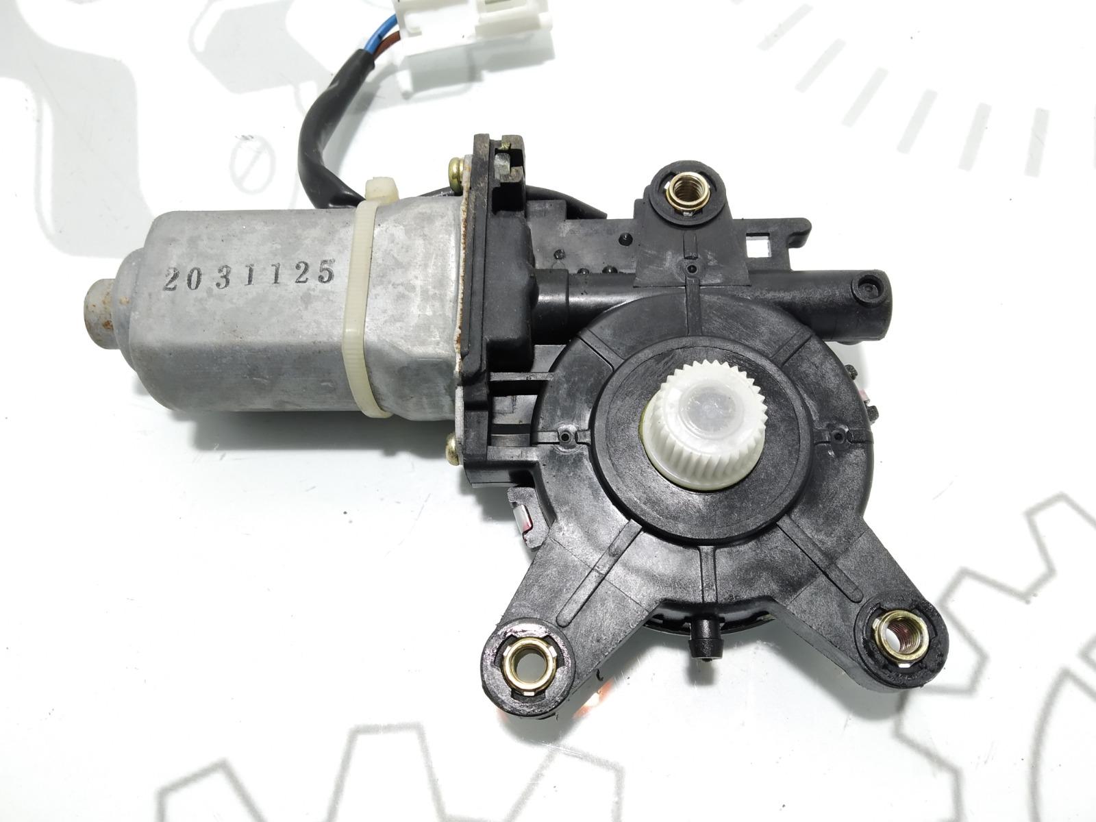 Моторчик стеклоподъемника задний левый Hyundai Matrix 1.6 I 2004 (б/у)