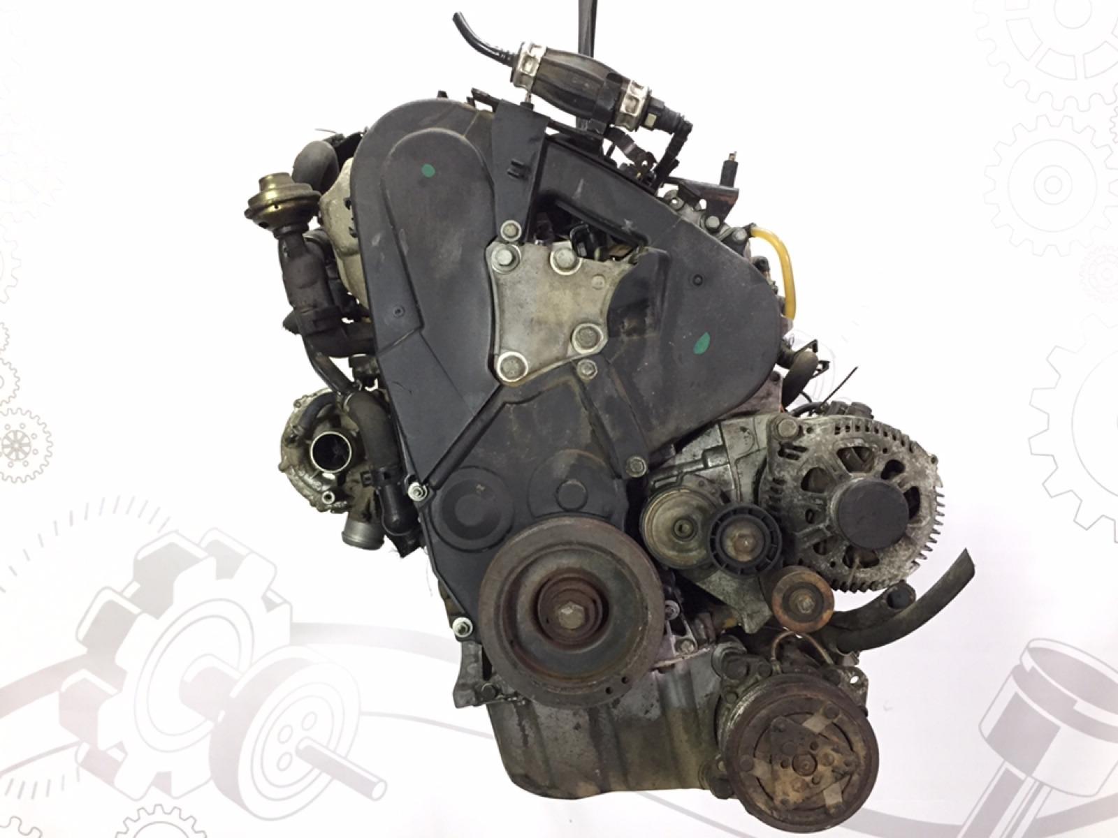 Двигатель дизельный Peugeot 307 2.0 HDI 2001 (б/у)