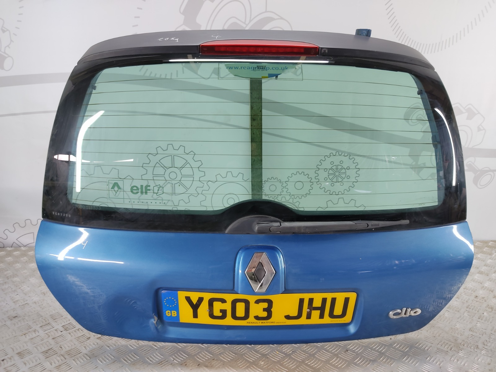 Крышка багажника (дверь 3-5) Renault Clio 1.4 I 2003 (б/у)