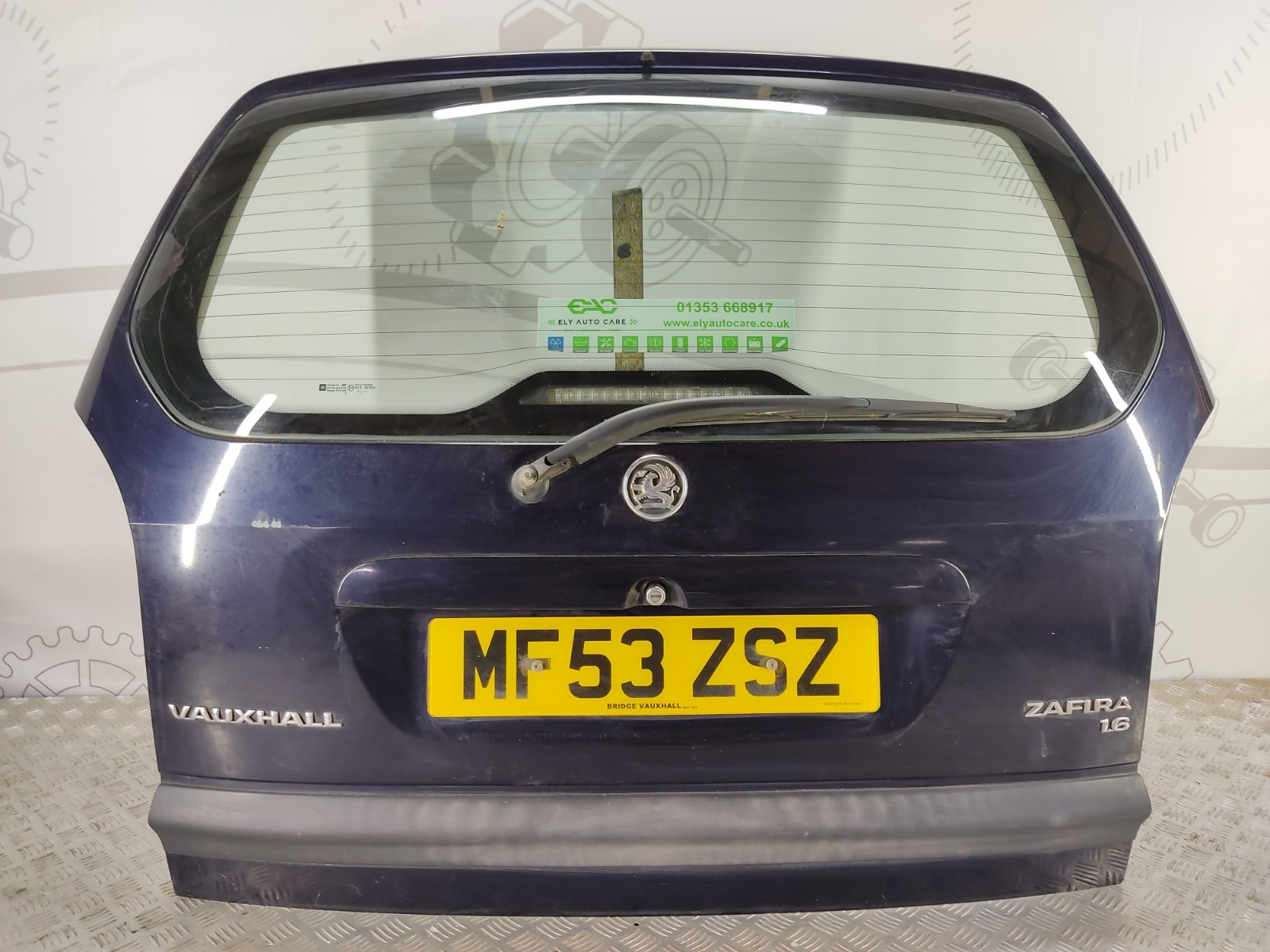 Крышка багажника (дверь 3-5) Opel Zafira A 1.6 I 2003 (б/у)