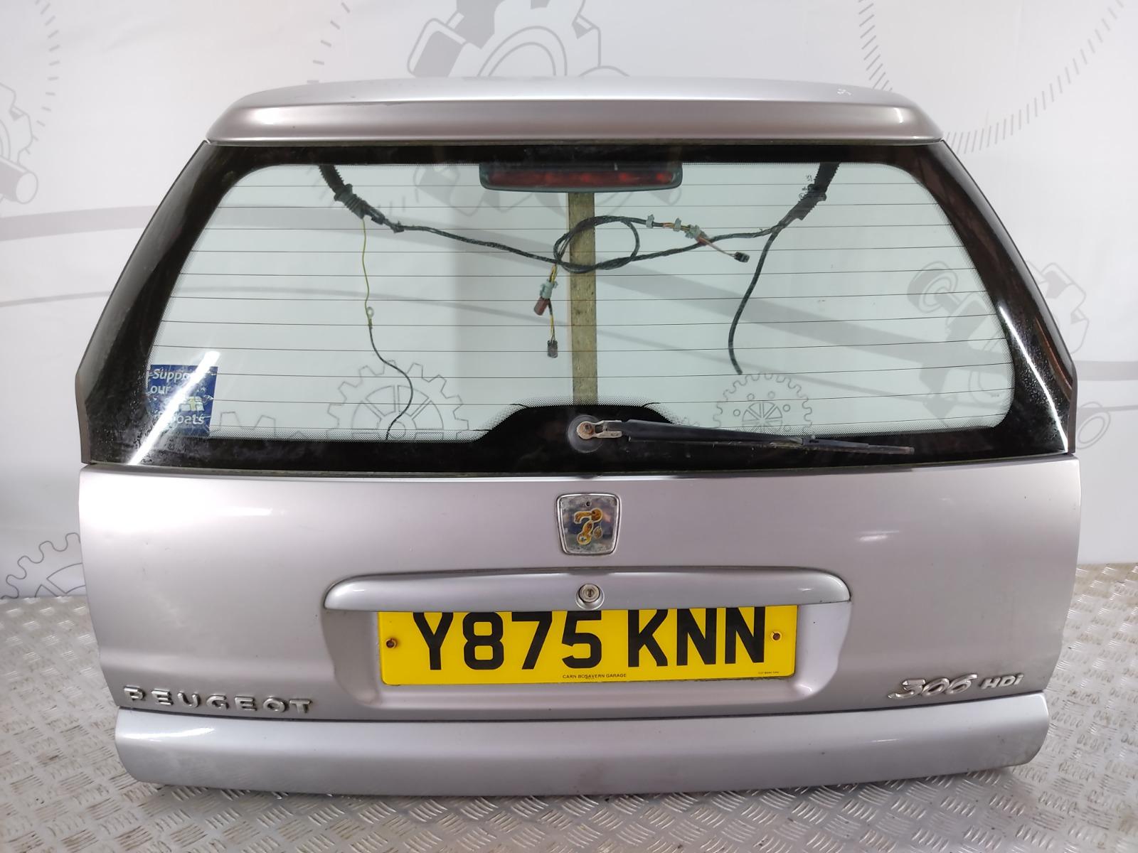 Крышка багажника (дверь 3-5) Peugeot 306 2.0 HDI 2001 (б/у)