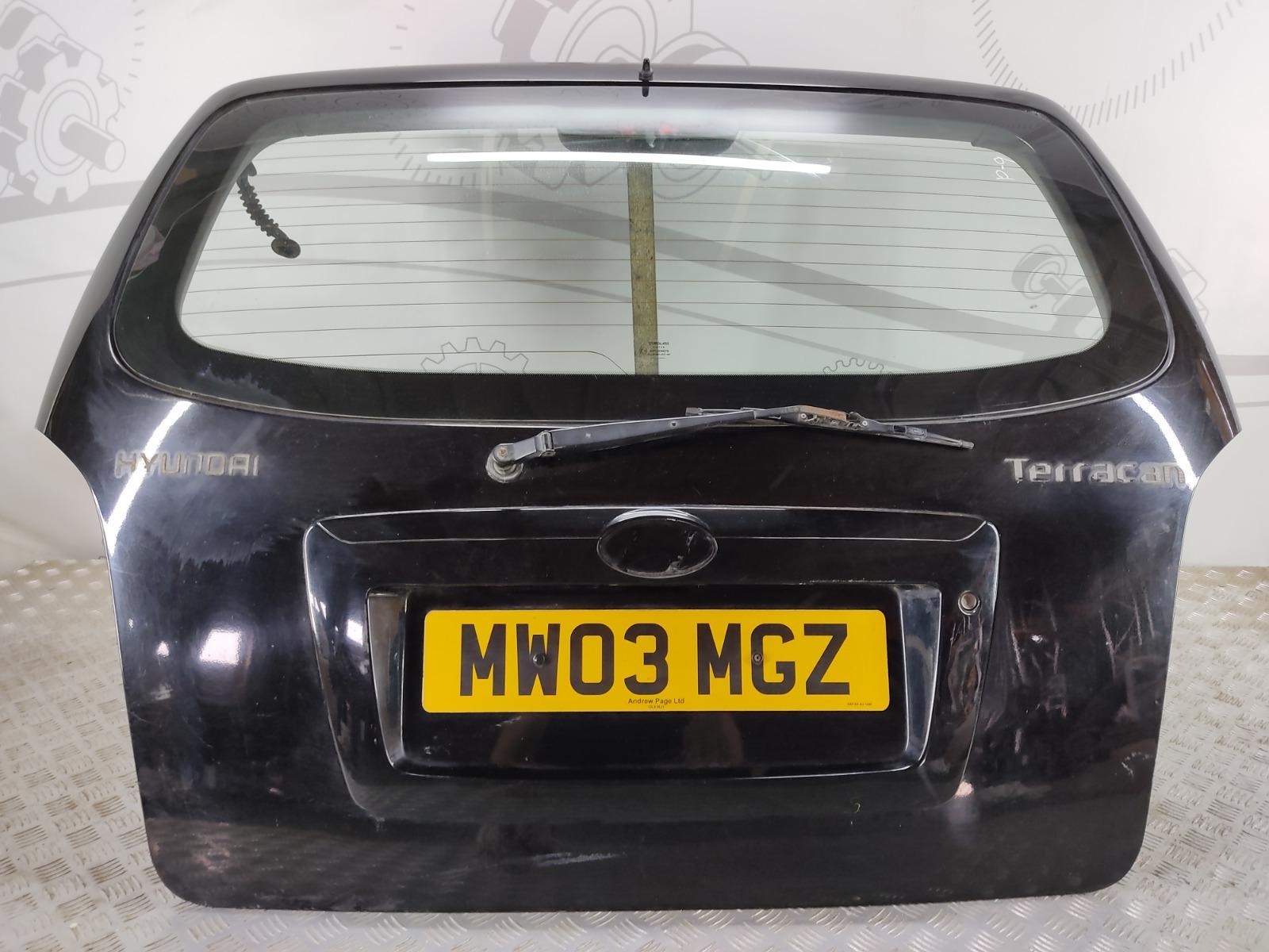Крышка багажника (дверь 3-5) Hyundai Terracan 2.9 CRTD 2003 (б/у)
