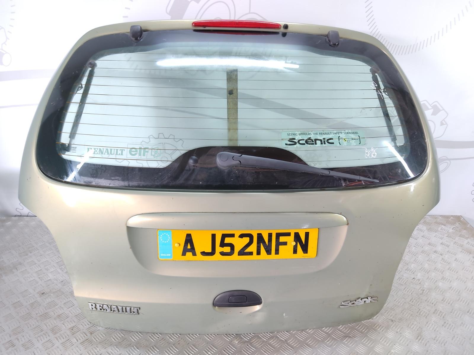 Крышка багажника (дверь 3-5) Renault Scenic 1.4 I 2002 (б/у)