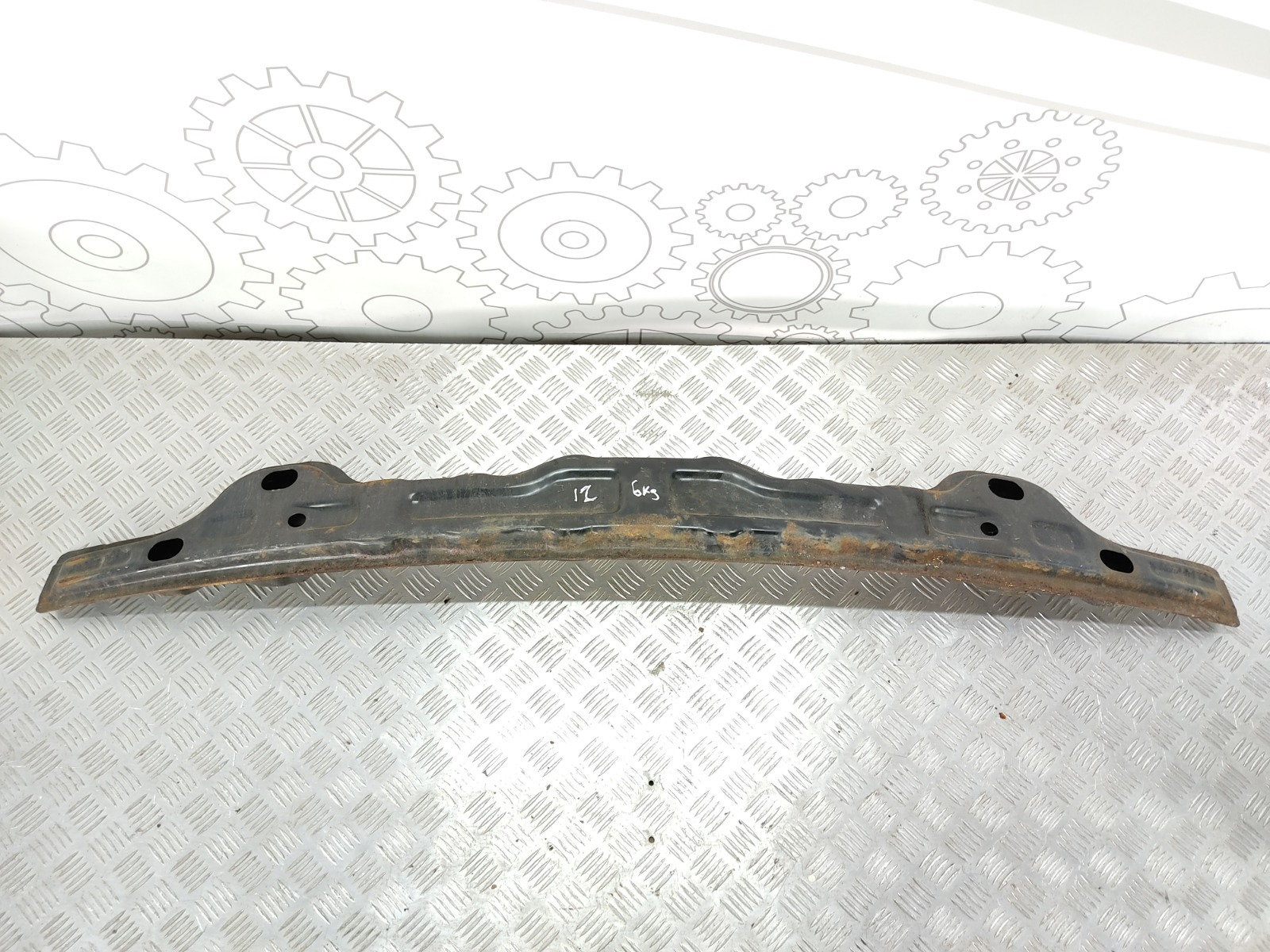 Усилитель бампера переднего Hyundai Santa Fe 2.0 CRDI 2005 (б/у)