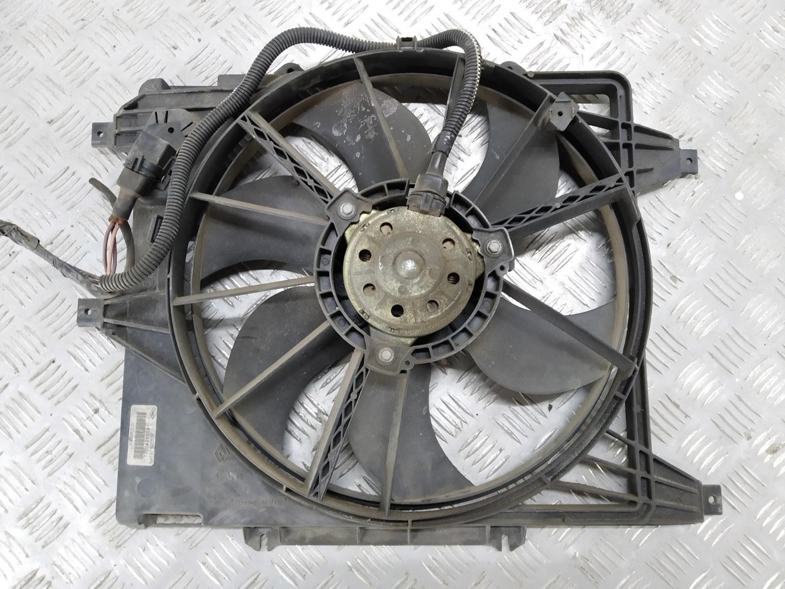 Вентилятор радиатора Renault Clio 1.4 I 2003 (б/у)