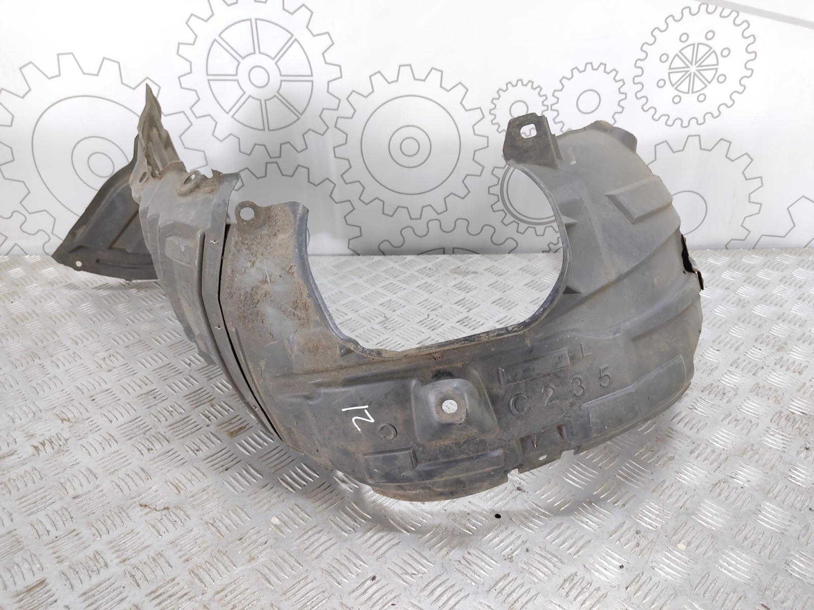 Защита арок передняя левая (подкрылок) Mazda 5 2.0 I 2008 (б/у)