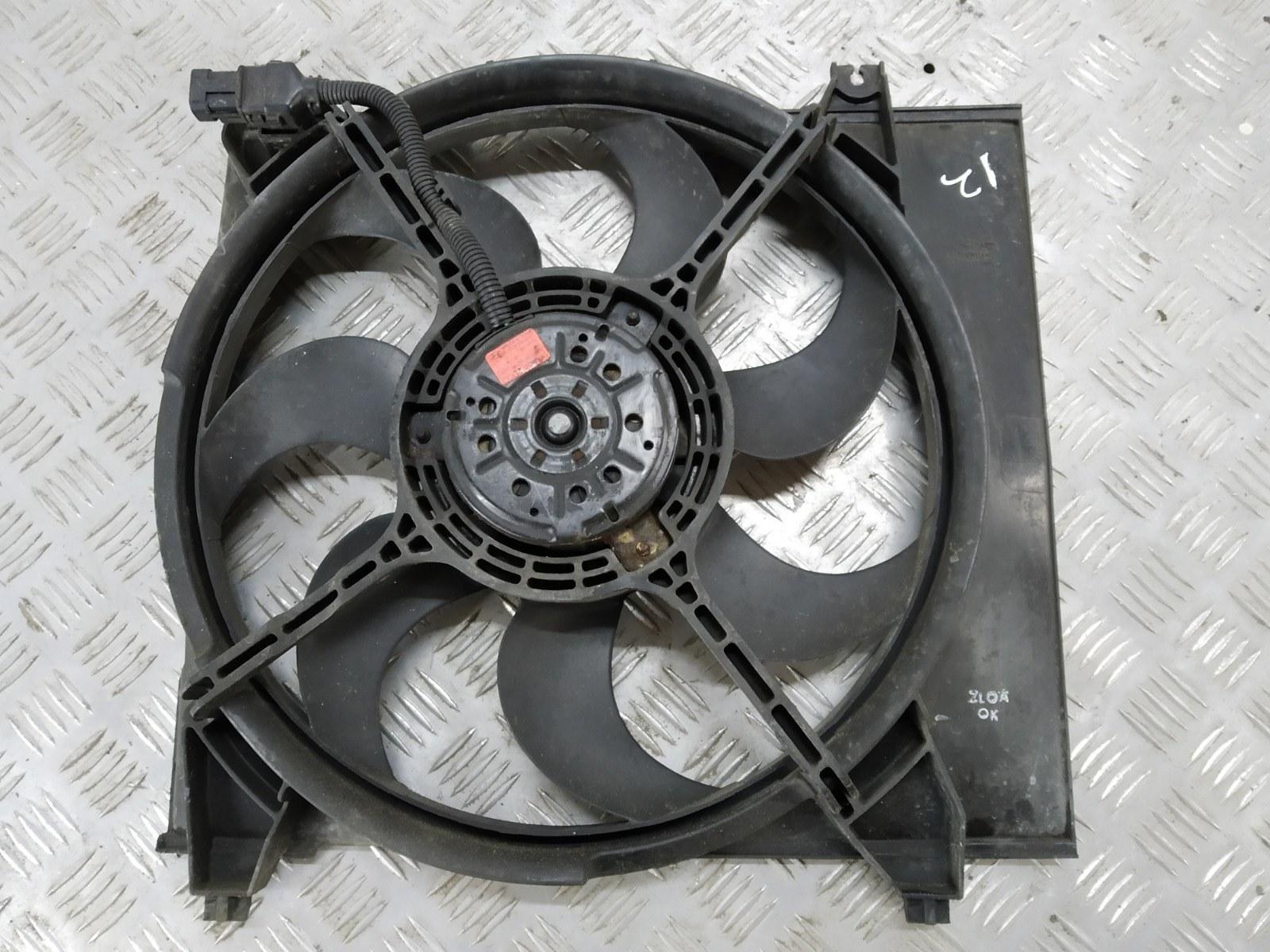 Вентилятор радиатора Hyundai Santa Fe 2.0 CRDI 2005 (б/у)