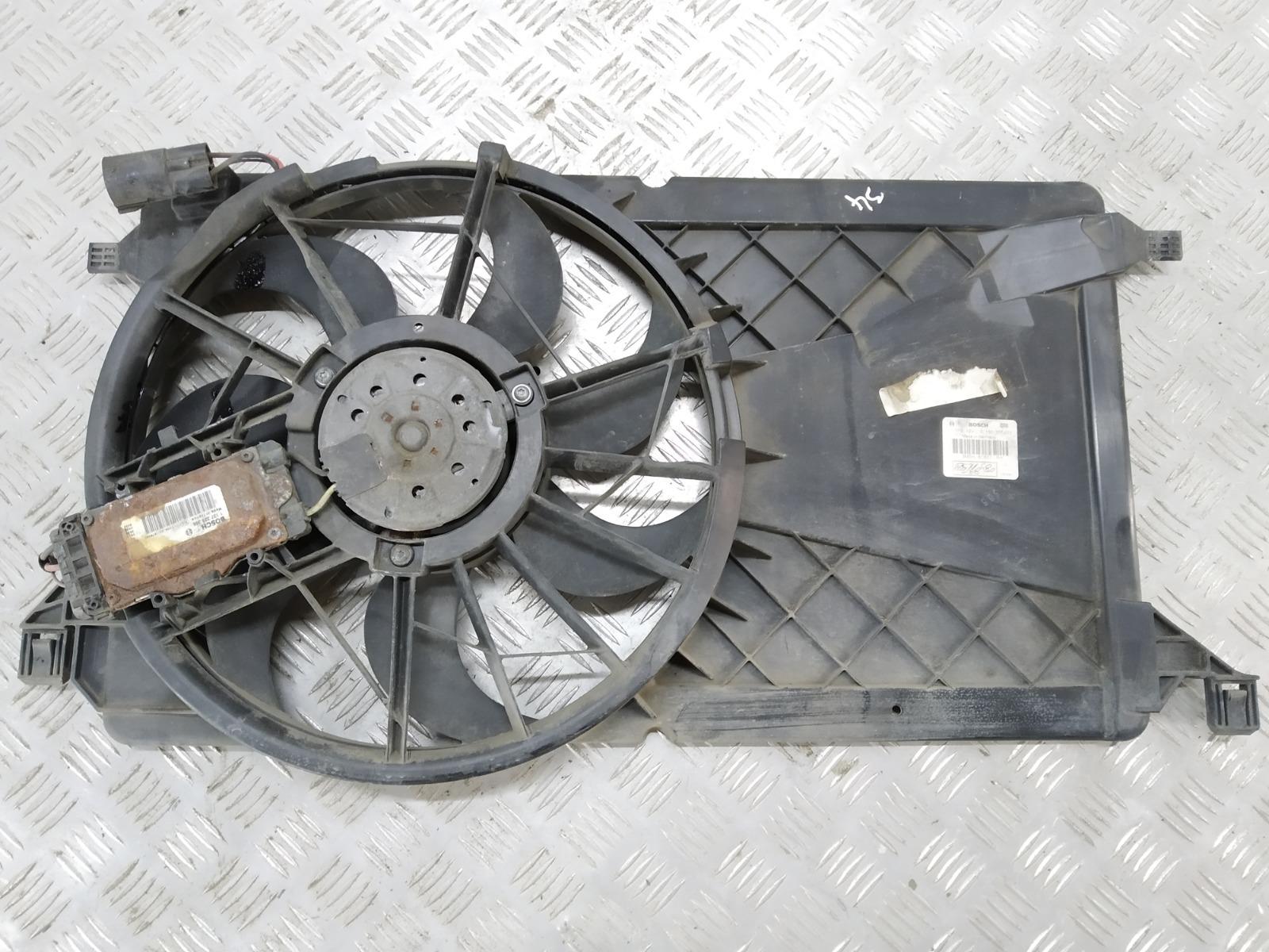 Вентилятор радиатора Ford Focus 1.8 I 2007 (б/у)