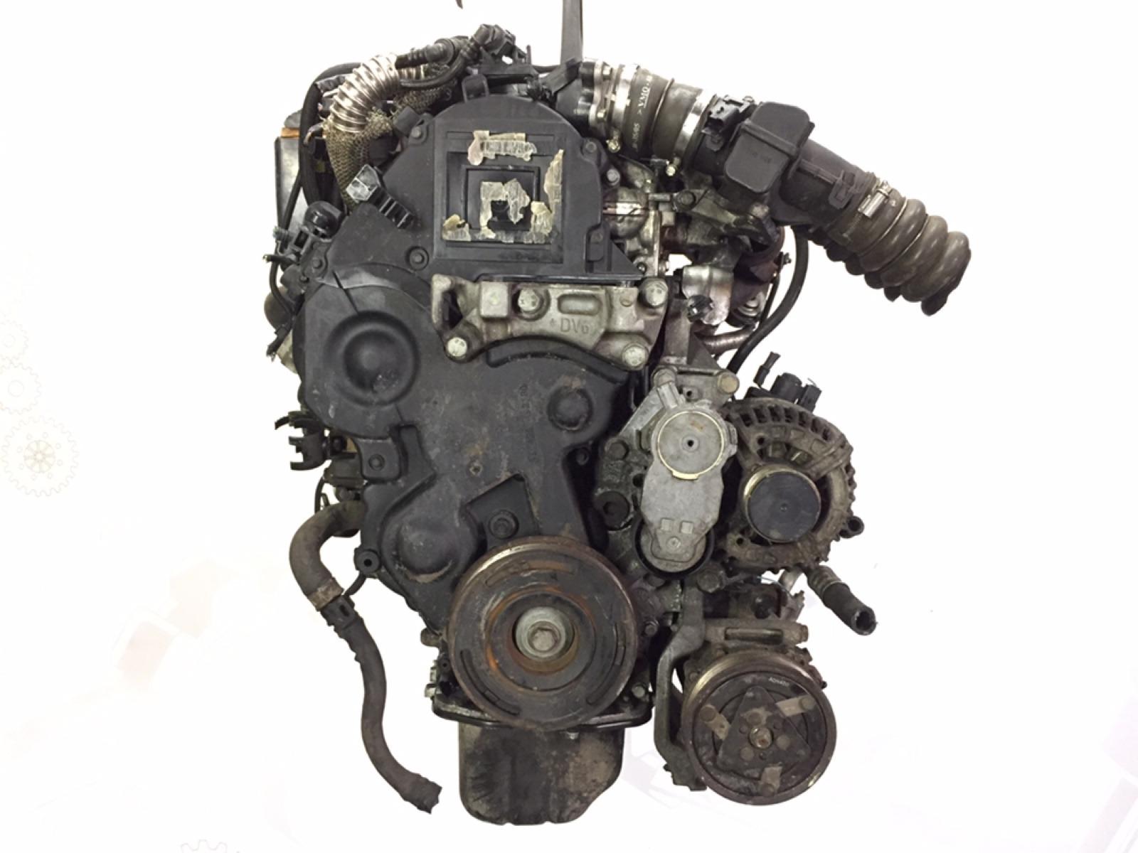 Двигатель дизельный Peugeot 307 1.6 HDI 2006 (б/у)