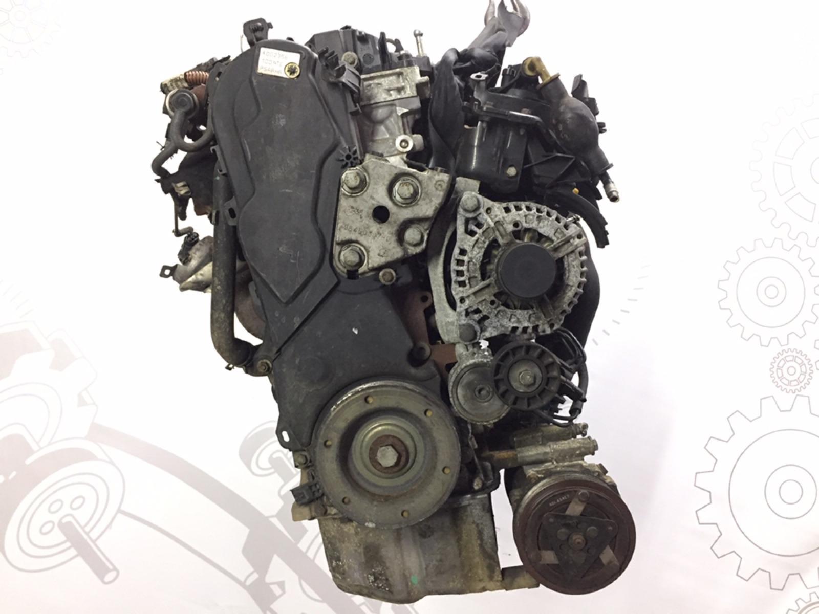 Двигатель дизельный Peugeot 307 2.0 HDI 2004 (б/у)