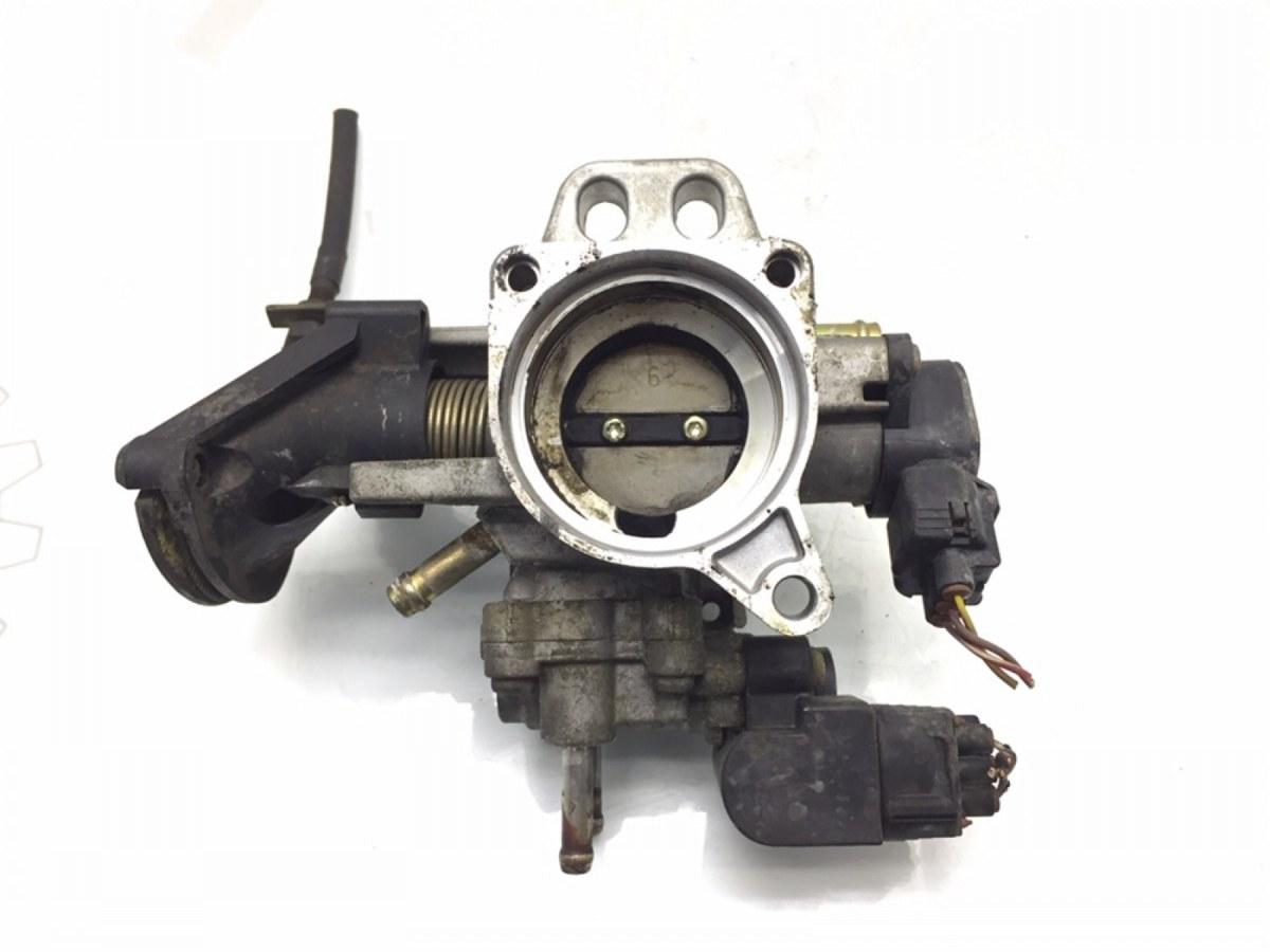 Заслонка дроссельная Toyota Yaris P1 1.0 I 2002 (б/у)