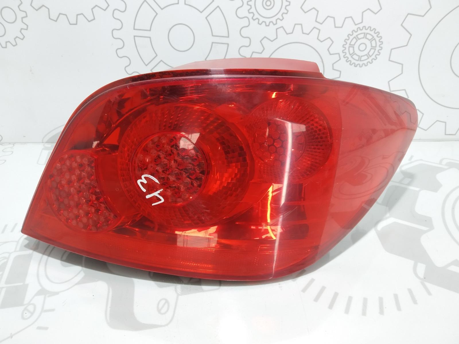 Фонарь задний правый Peugeot 307 1.6 I 2006 (б/у)
