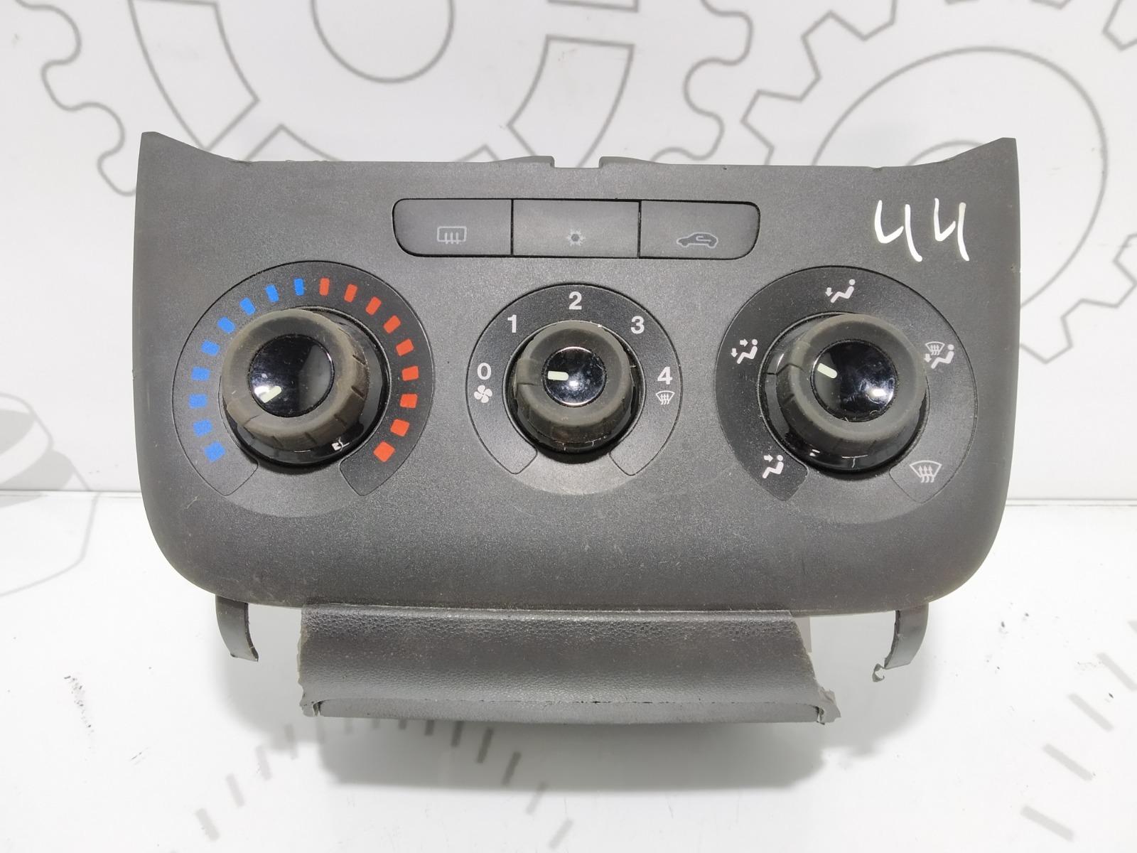 Блок управления печки/климат-контроля Fiat Punto 1.4 I 2011 (б/у)