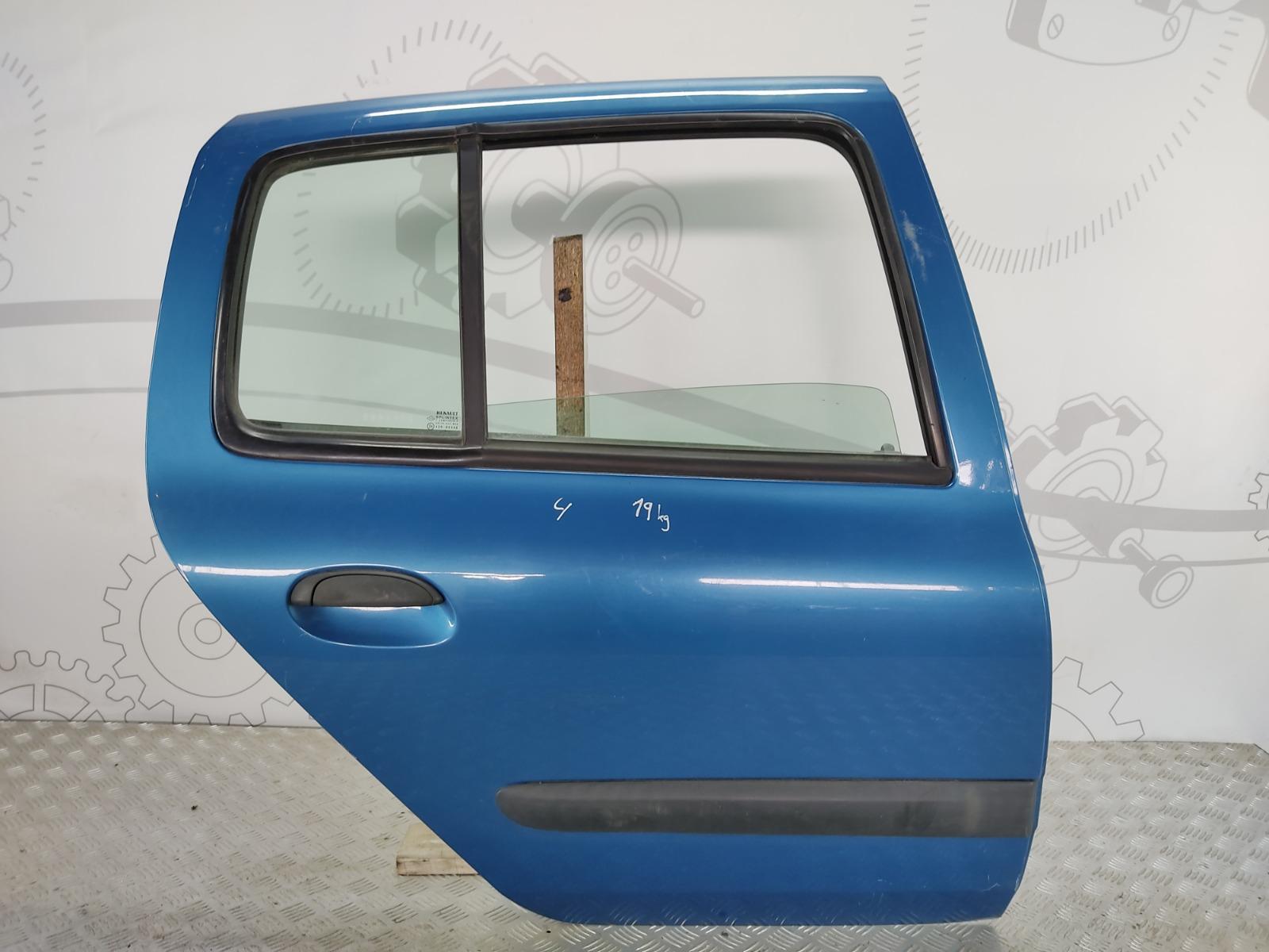 Дверь задняя правая Renault Clio 1.4 I 2003 (б/у)