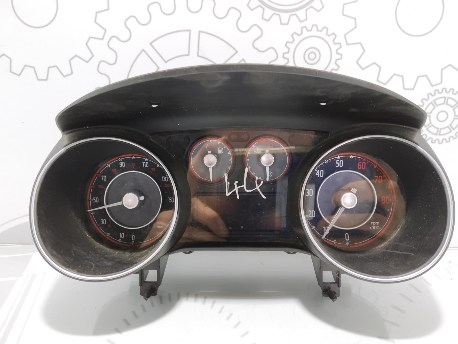 Щиток приборов (приборная панель) Fiat Punto 1.4 I 2011 (б/у)