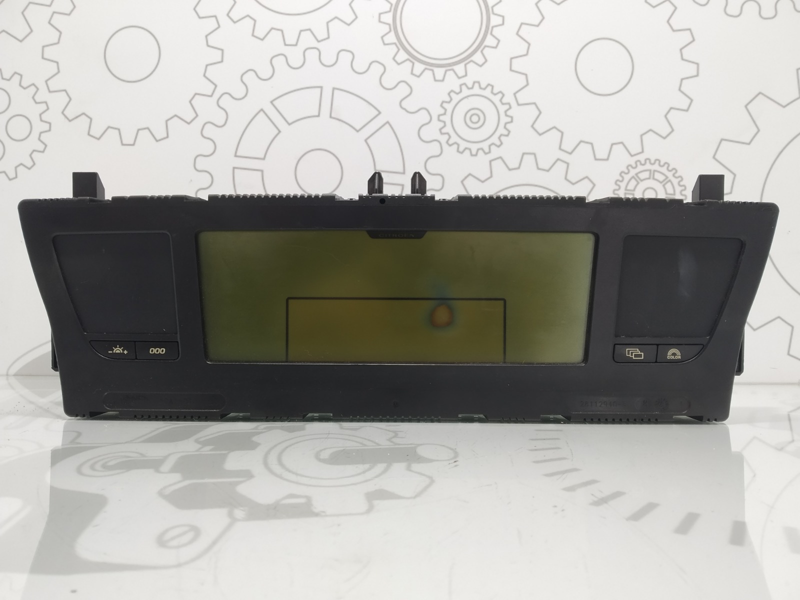 Щиток приборов (приборная панель) Citroen C4 Grand Picasso 2.0 HDI 2007 (б/у)