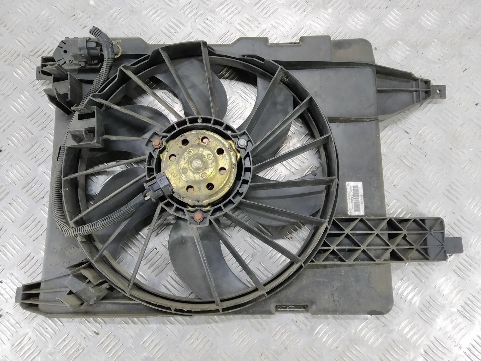 Вентилятор радиатора Renault Scenic 1.5 DCI 2003 (б/у)
