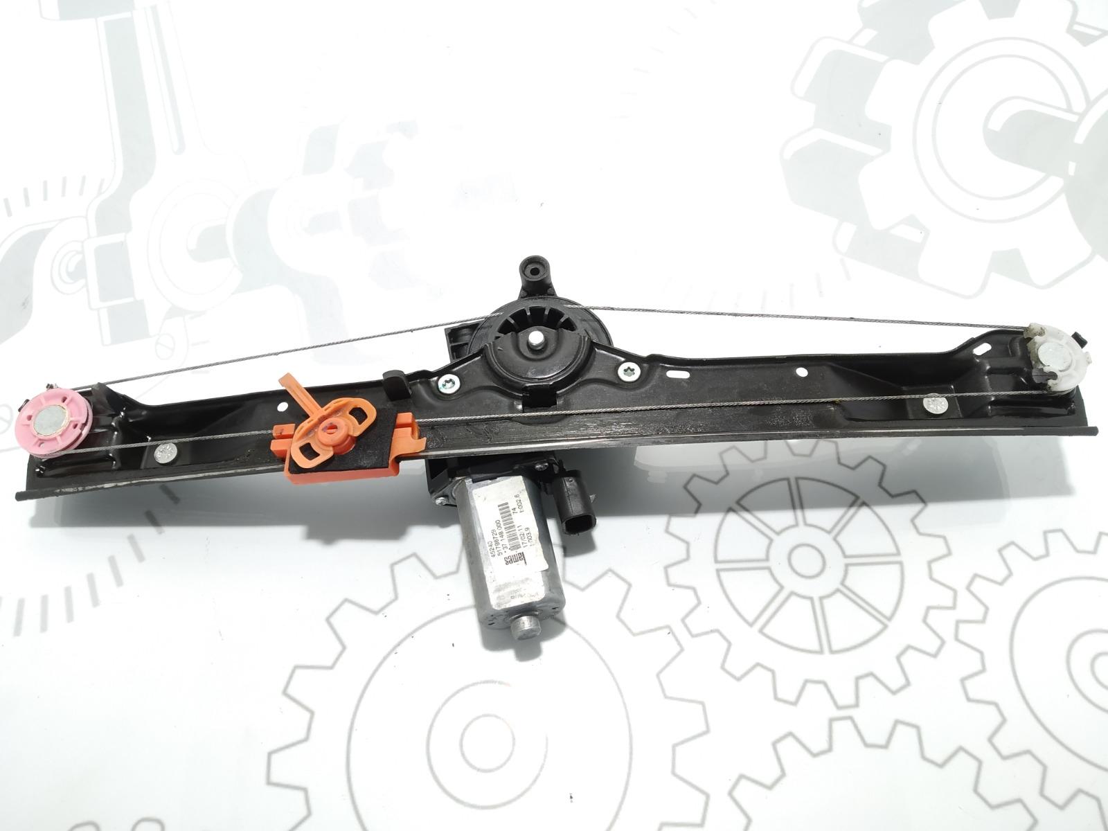 Стеклоподъемник электрический передний левый Fiat Punto 1.4 I 2011 (б/у)