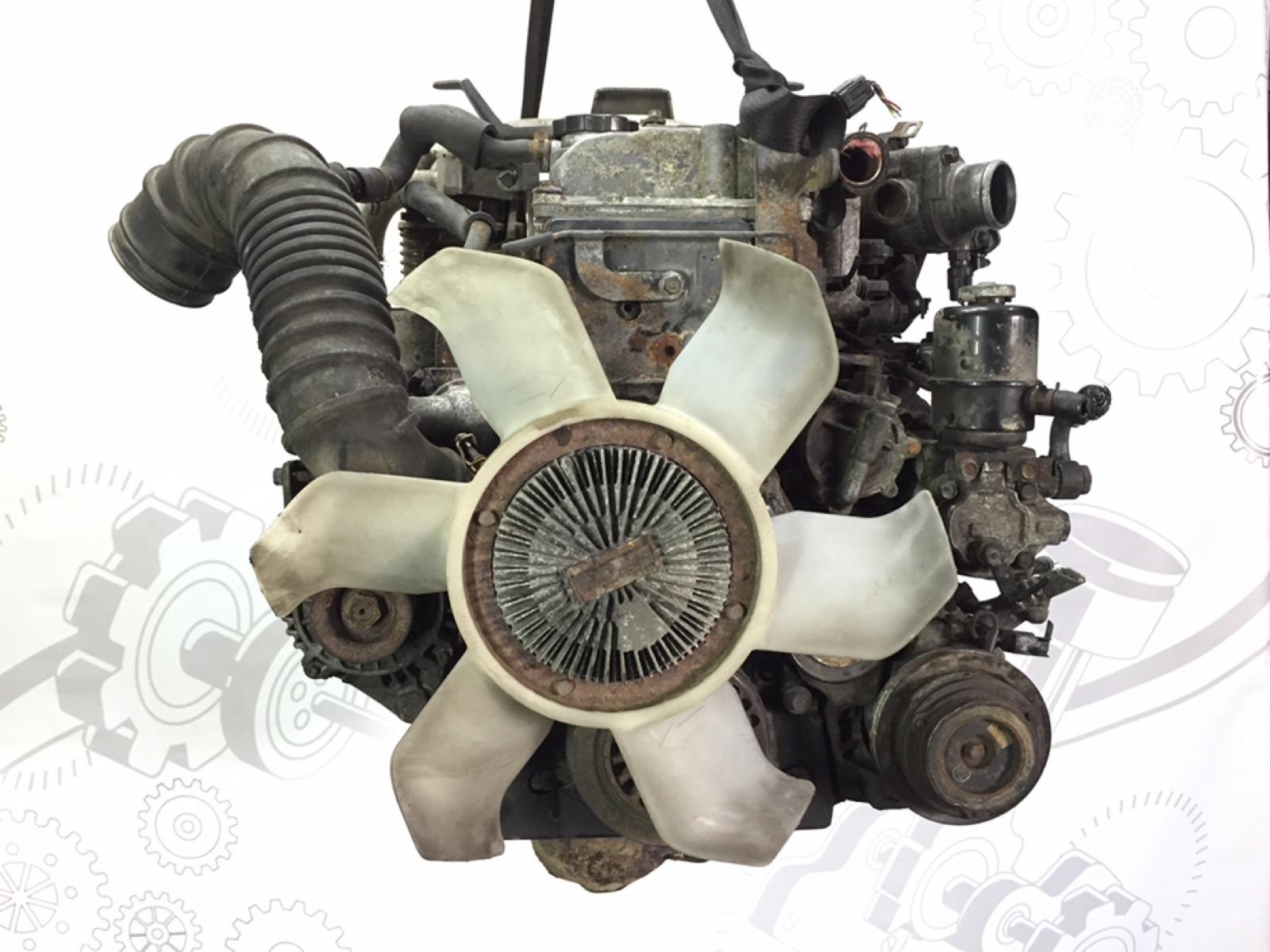 Двигатель дизельный Mitsubishi Pajero 3.2 DID 2003 (б/у)