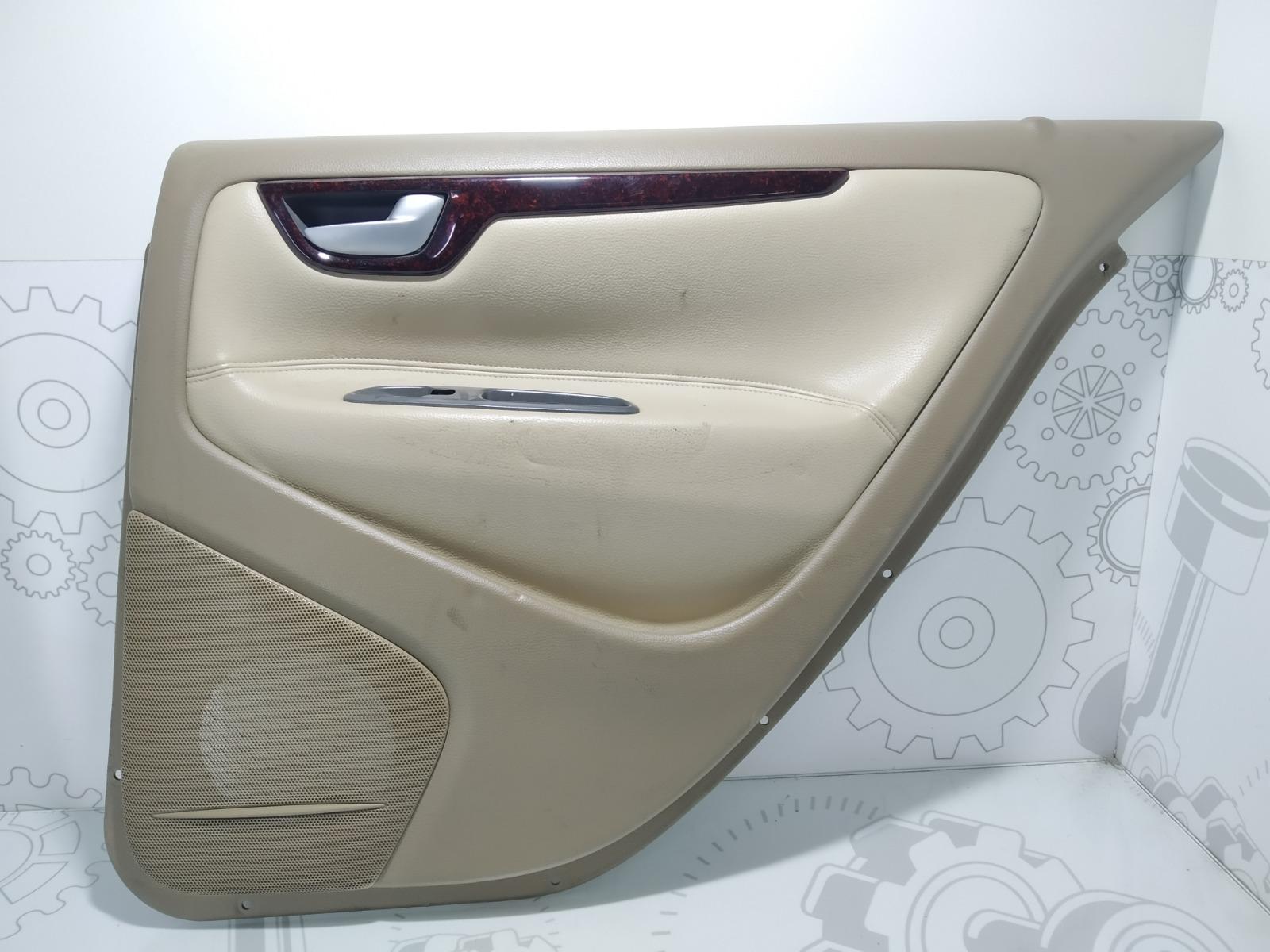 Обшивка двери задней правой (дверная карта) Volvo S60 2.3 TI 2003 (б/у)