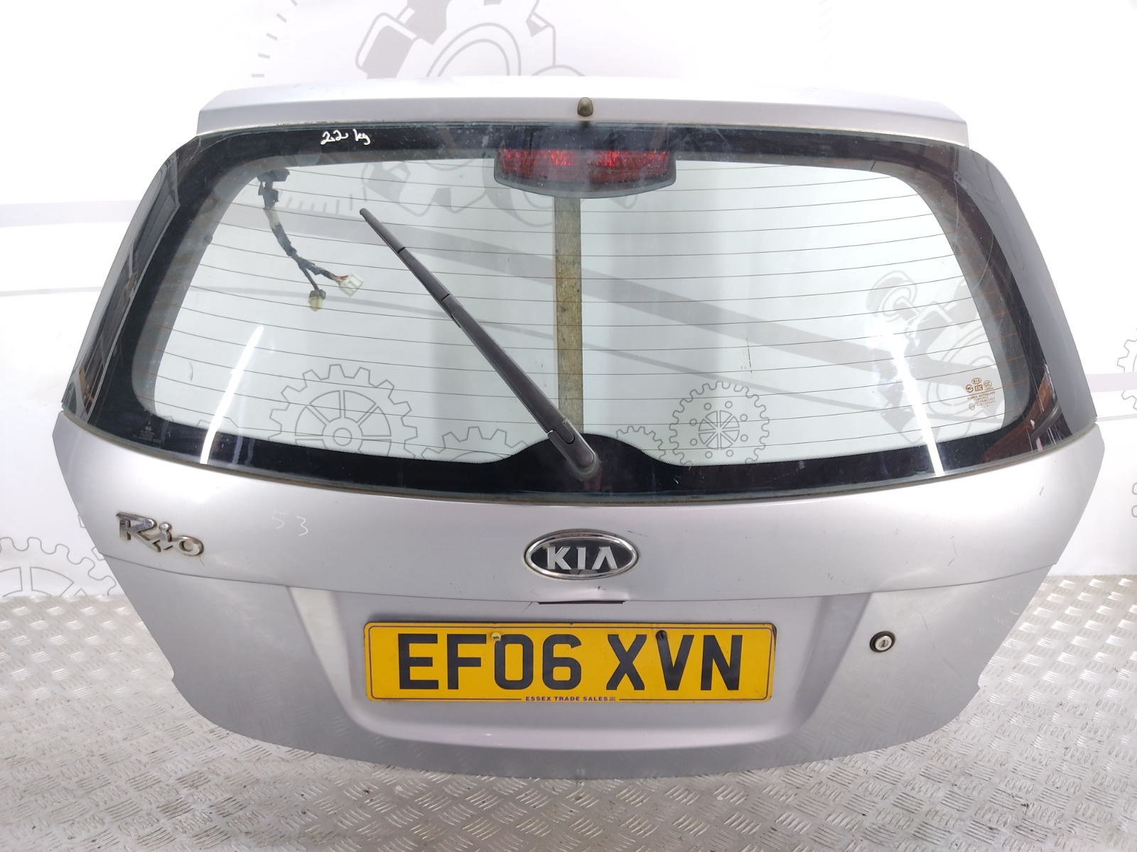 Крышка багажника (дверь 3-5) Kia Rio 1.4 I 2006 (б/у)