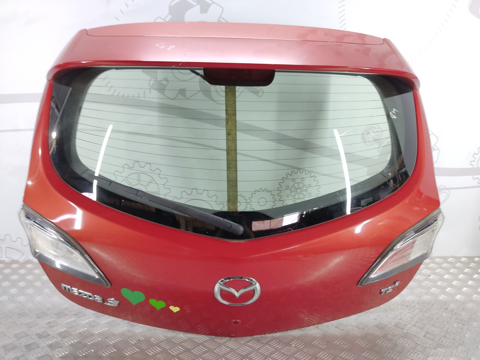 Крышка багажника (дверь 3-5) Mazda 3 BL 1.6 I 2009 (б/у)