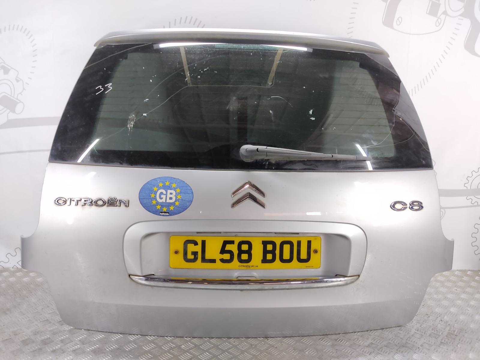 Крышка багажника (дверь 3-5) Citroen C8 2.0 I 2008 (б/у)