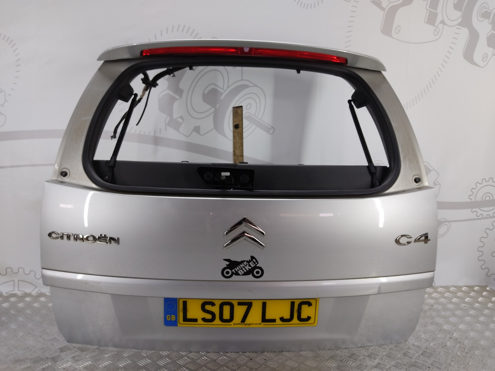 Крышка багажника (дверь 3-5) Citroen C4 Grand Picasso 2.0 HDI 2007 (б/у)