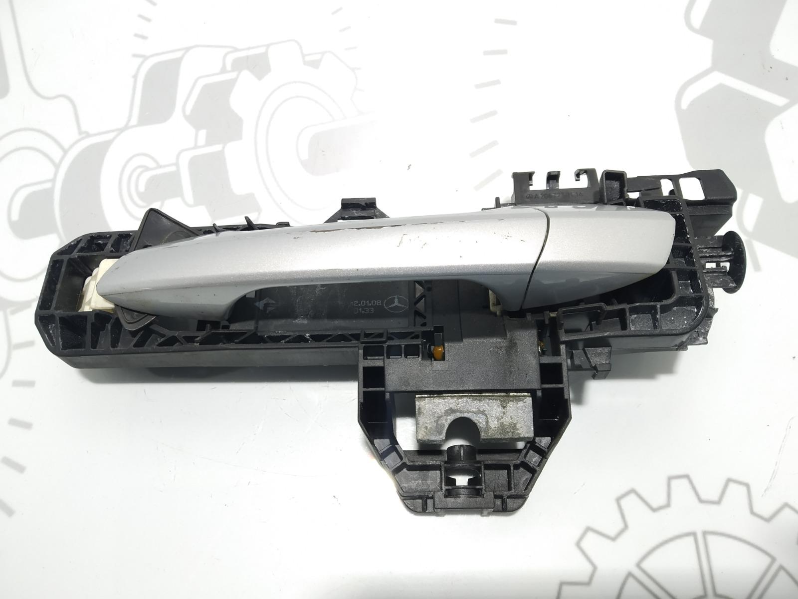 Ручка наружная передняя левая Mercedes C W204 2.2 CDI 2008 (б/у)