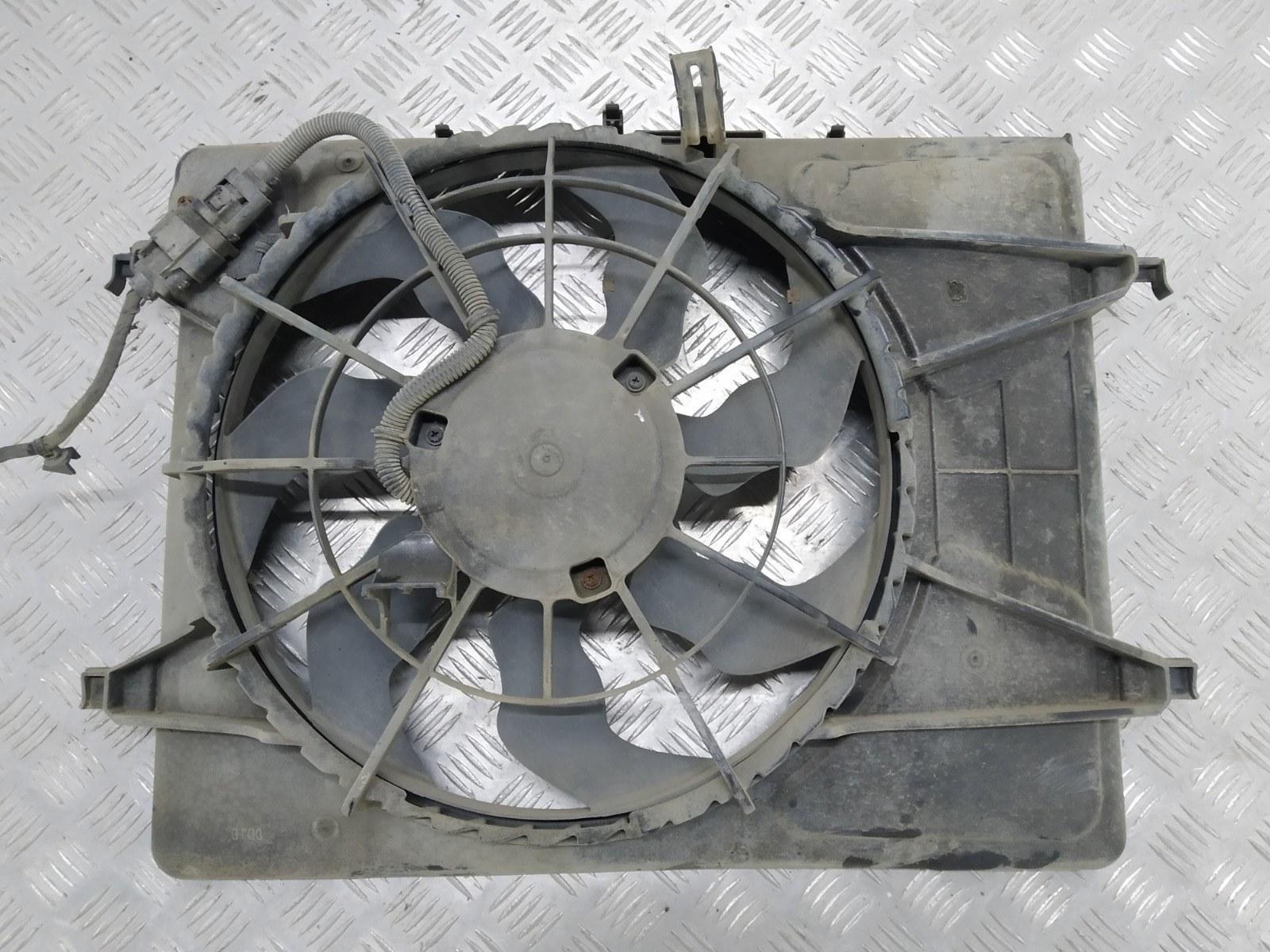 Вентилятор радиатора Kia Ceed 1.4 I 2007 (б/у)