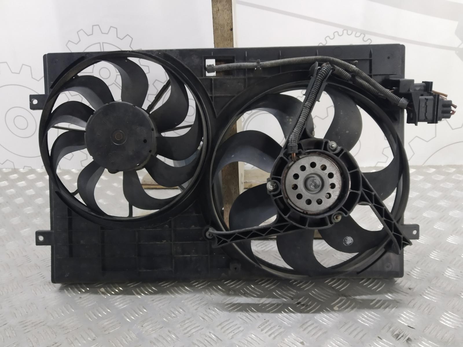 Вентилятор радиатора Volkswagen Polo 1.2 I 2002 (б/у)