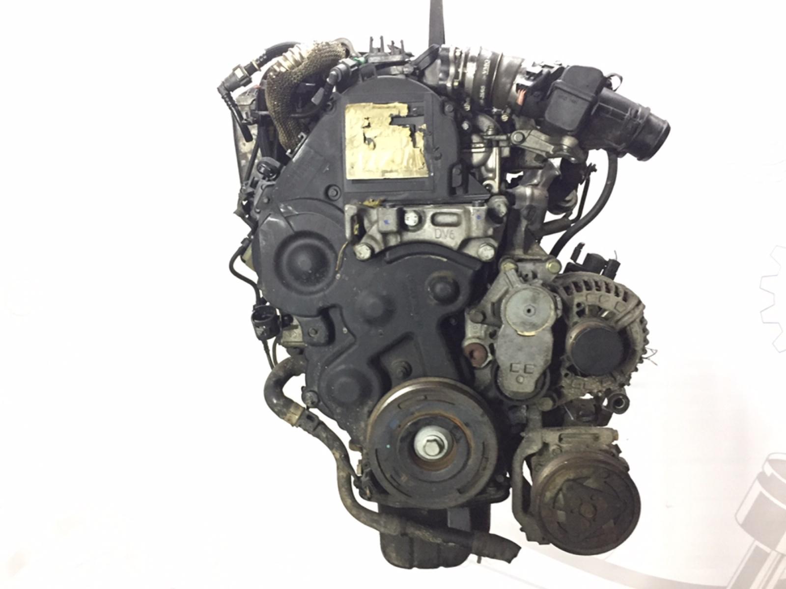 Двигатель дизельный Peugeot 307 1.6 HDI 2005 (б/у)