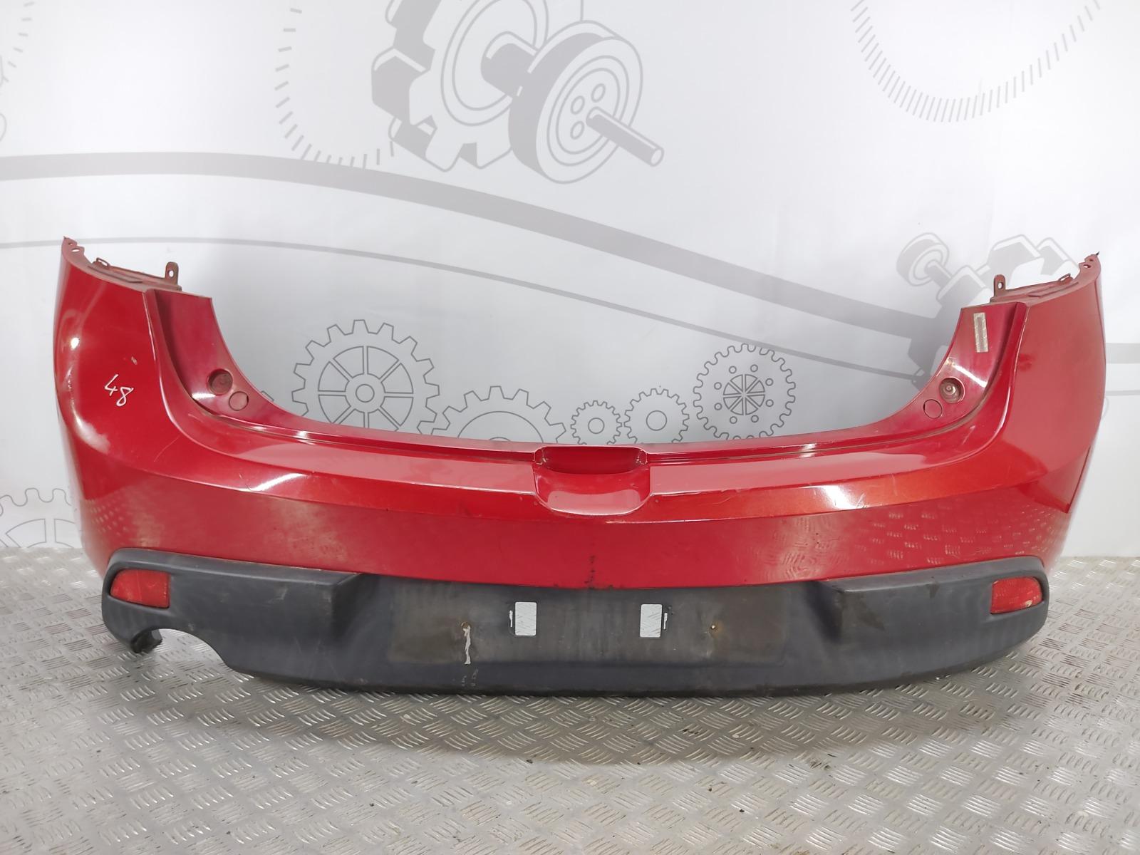 Бампер задний Mazda 3 BL 1.6 I 2009 (б/у)