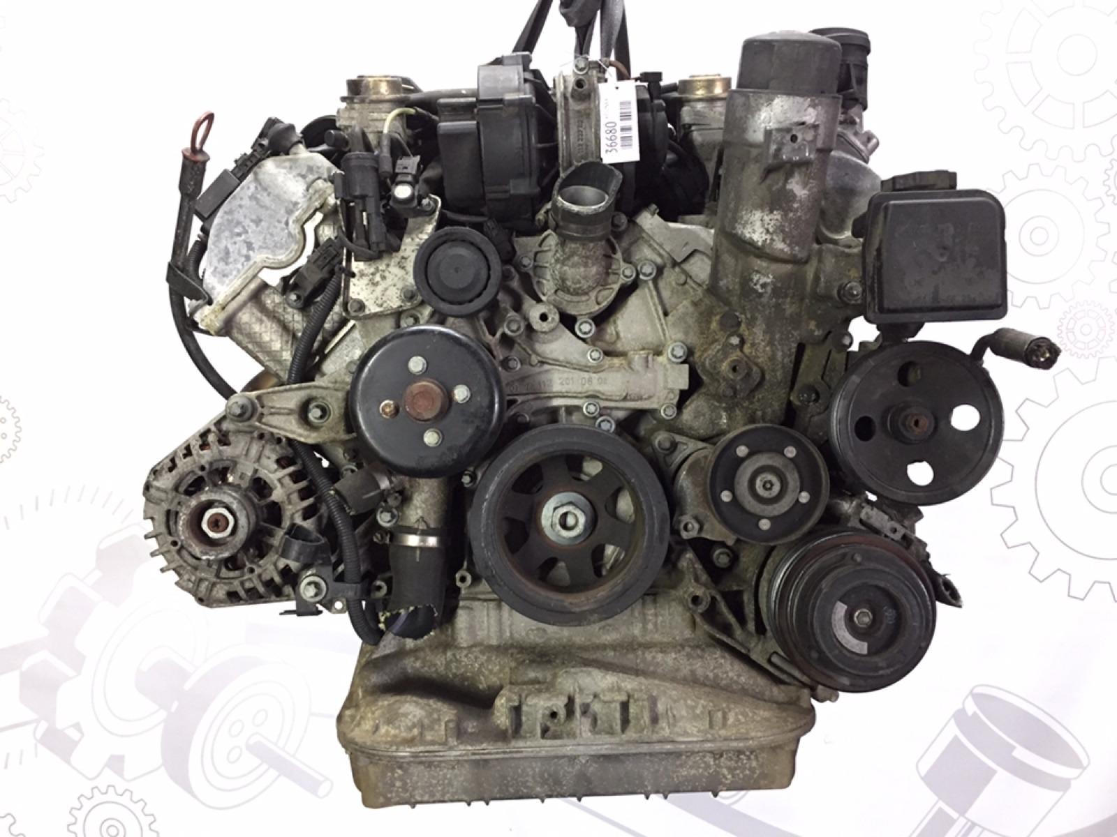 Двигатель бензиновый Mercedes Clk W209 3.2 I 2002 (б/у)