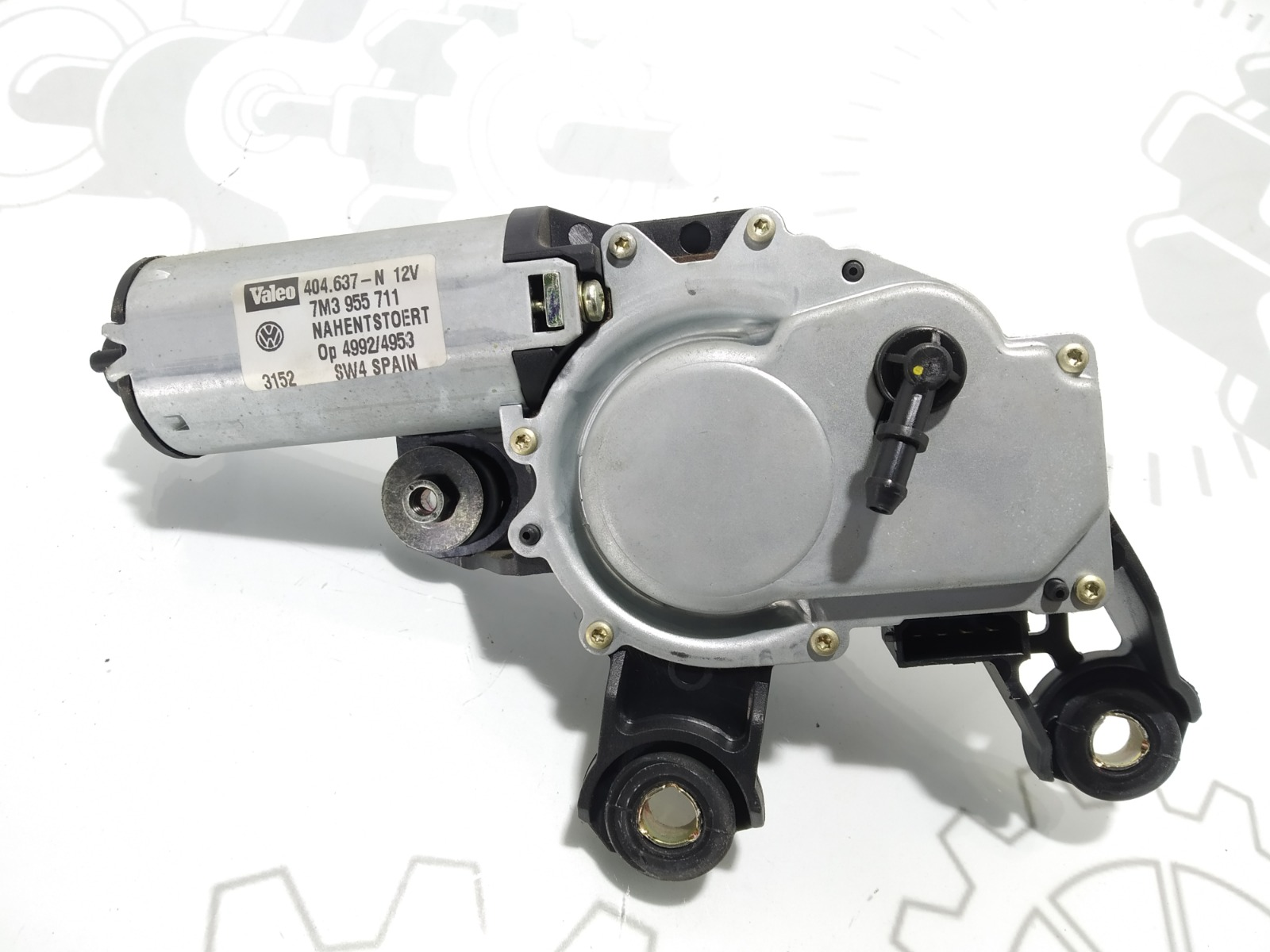 Моторчик заднего стеклоочистителя (дворника) Seat Alhambra 1.9 TDI 2002 (б/у)