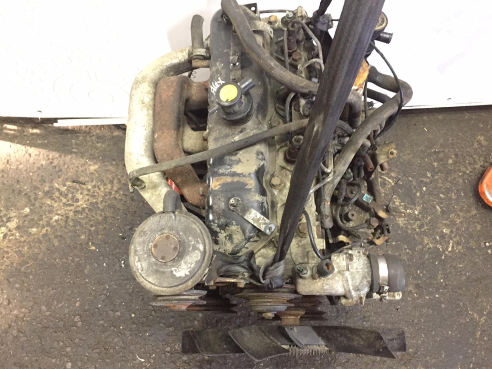 Двигатель дизельный Ldv Convoy 2.5 TD 1996 (б/у)