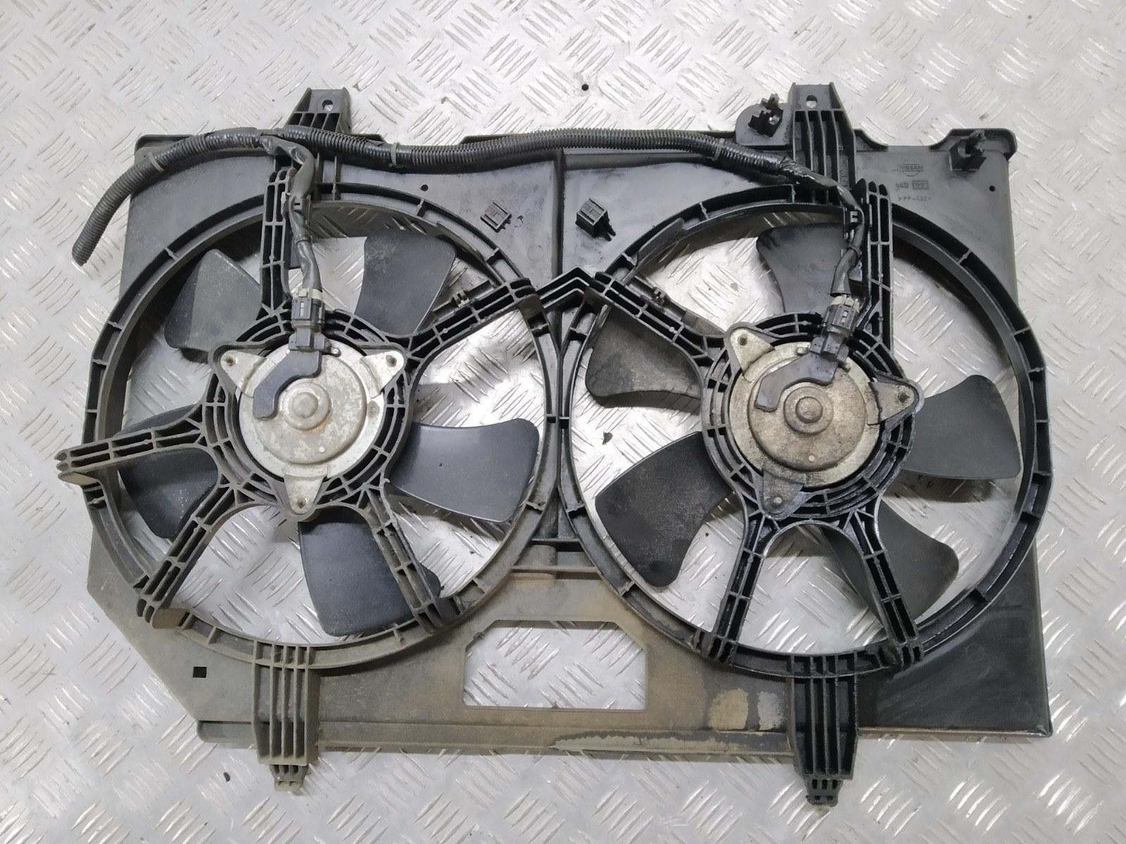 Вентилятор радиатора Nissan X-Trail T30 2.2 DCI 2003 (б/у)