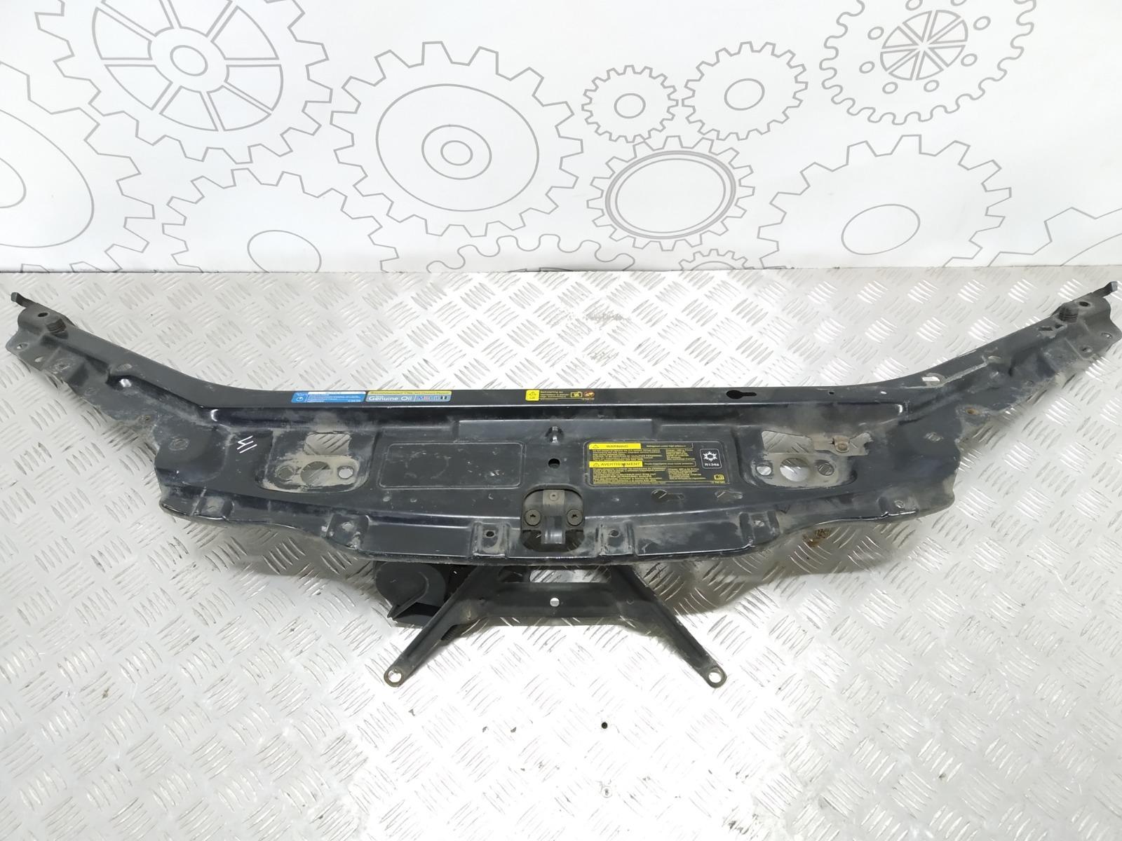 Передняя панель крепления облицовки (телевизор) Saab 9-3 2.2 TID 2004 (б/у)