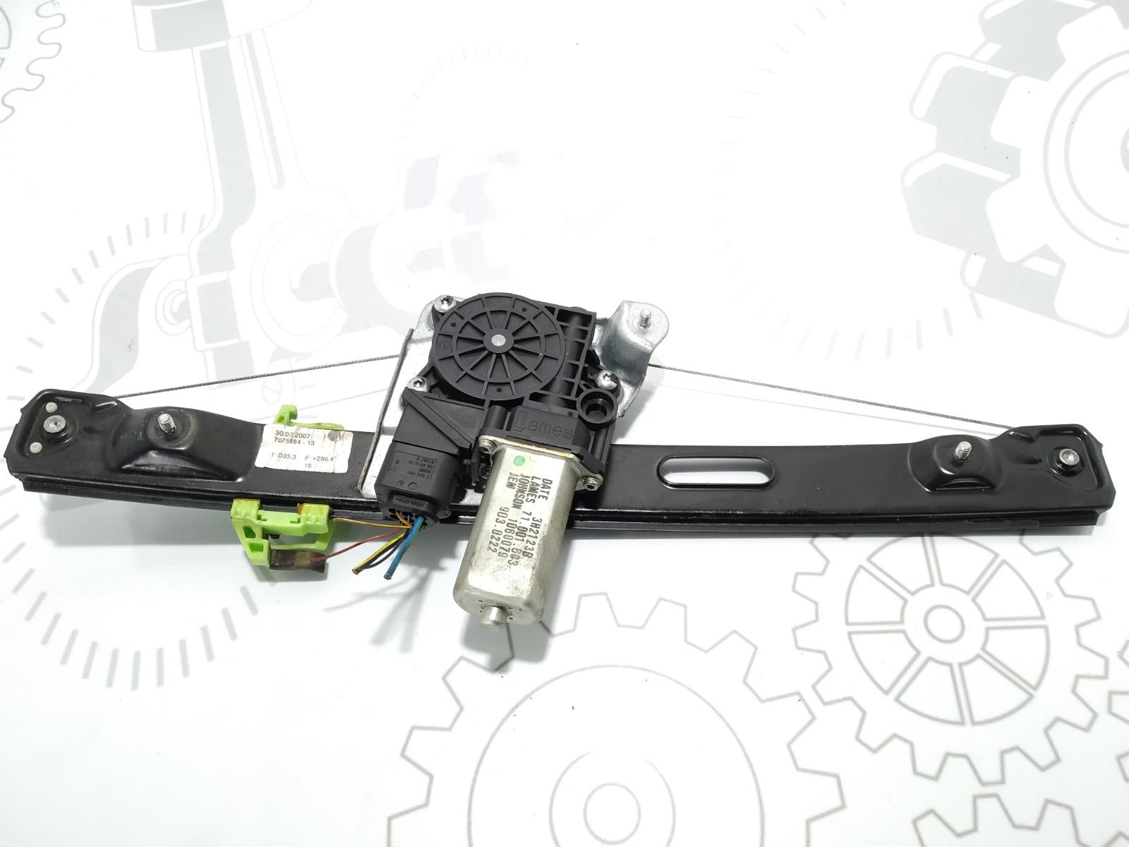 Стеклоподъемник электрический задний правый Bmw 3 E90 2.0 I 2005 (б/у)