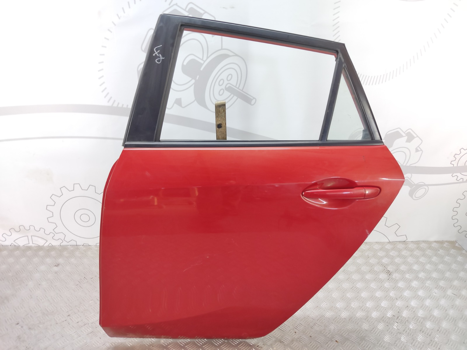 Дверь задняя левая Mazda 3 BL 1.6 I 2009 (б/у)