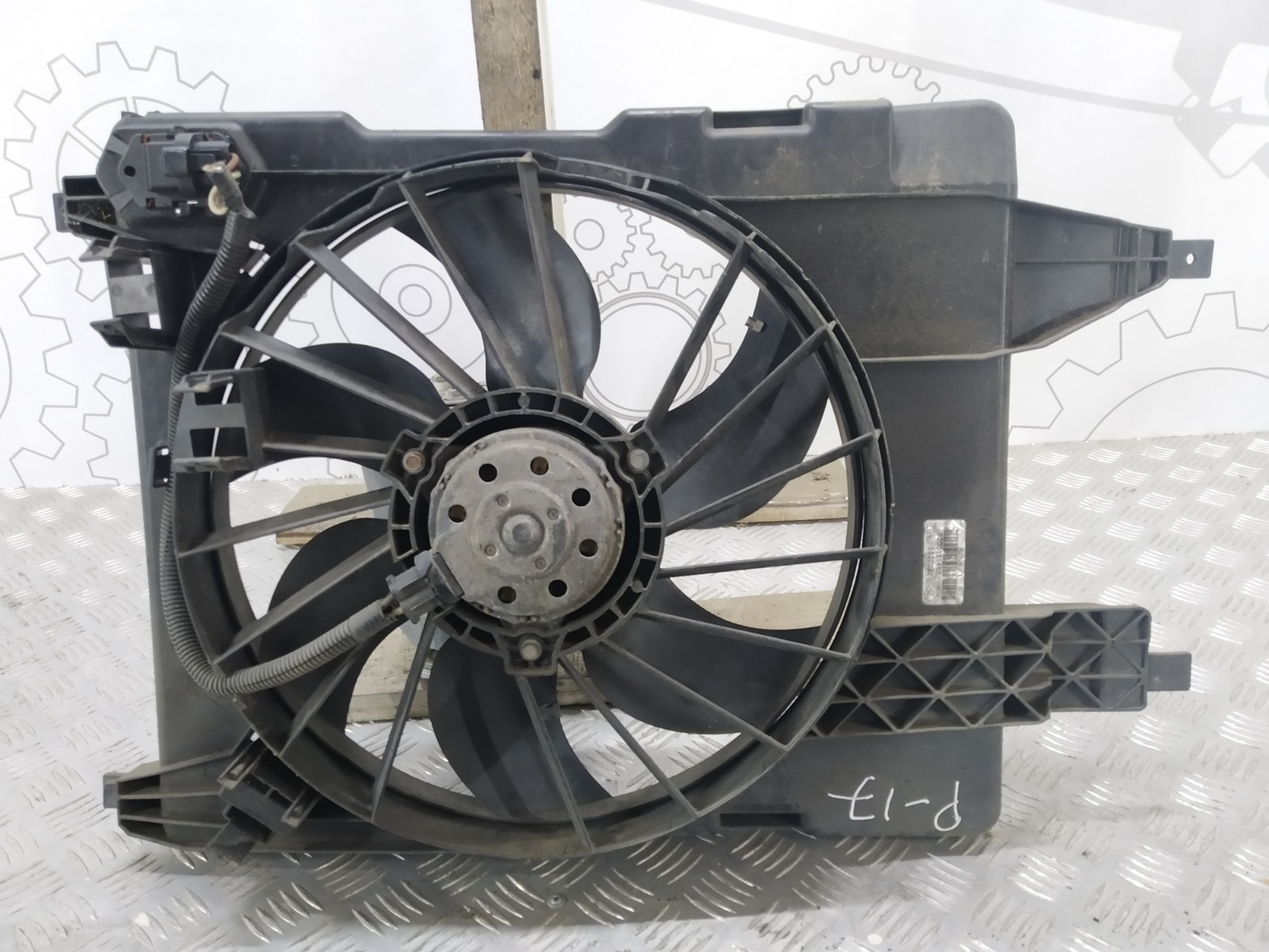 Вентилятор радиатора Renault Grand Scenic 2.0 I 2006 (б/у)