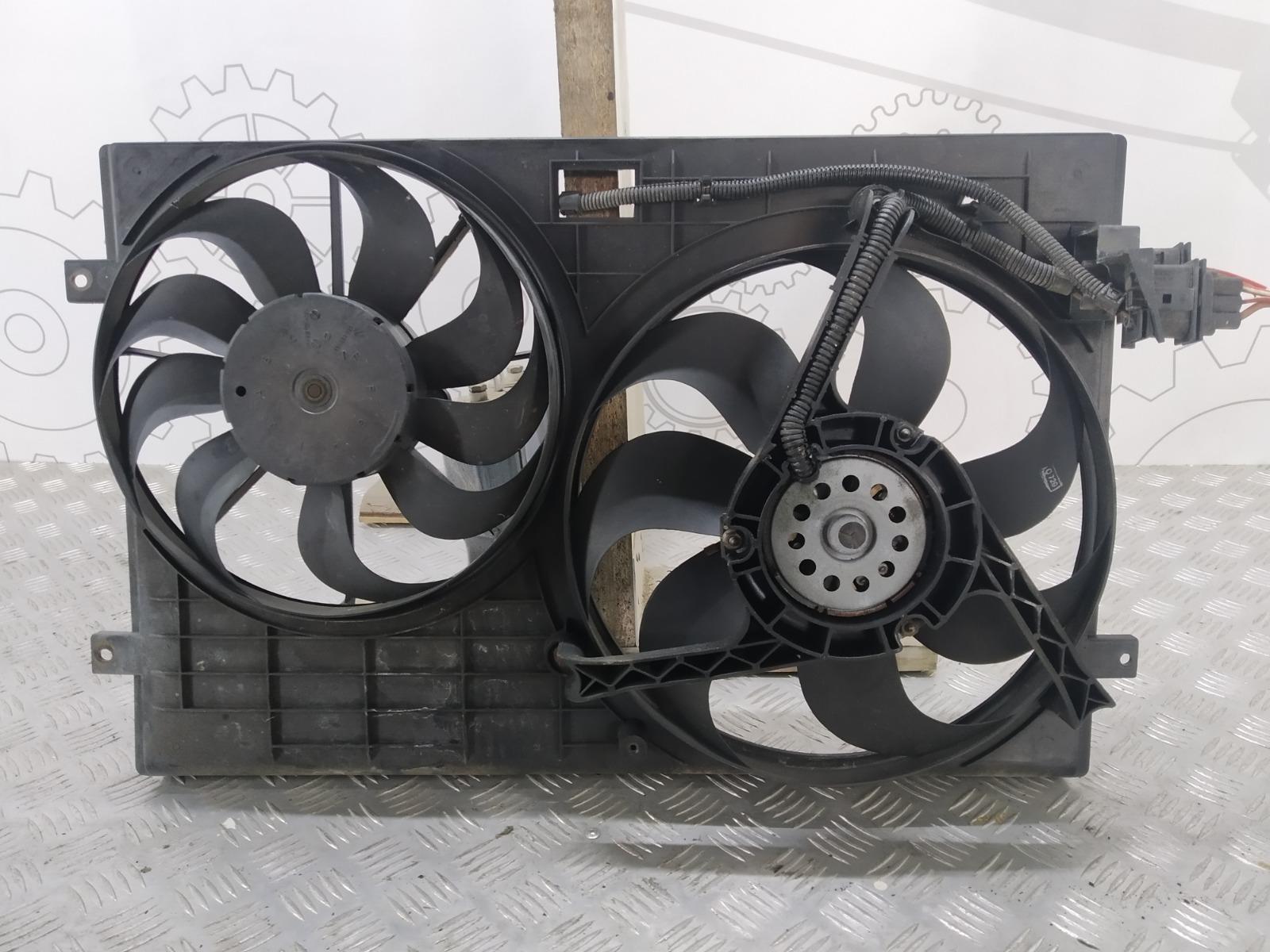 Вентилятор радиатора Skoda Fabia 1.4 I 2001 (б/у)