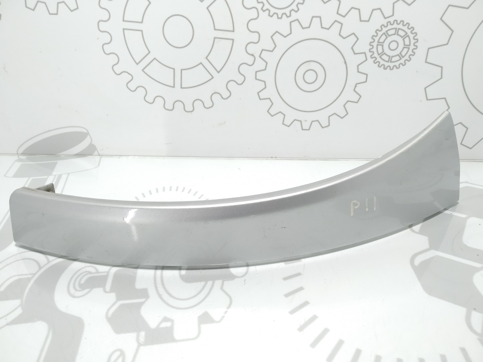 Накладка (ресничка) левой фары Citroen Jumper 2.2 HDI 2013 (б/у)