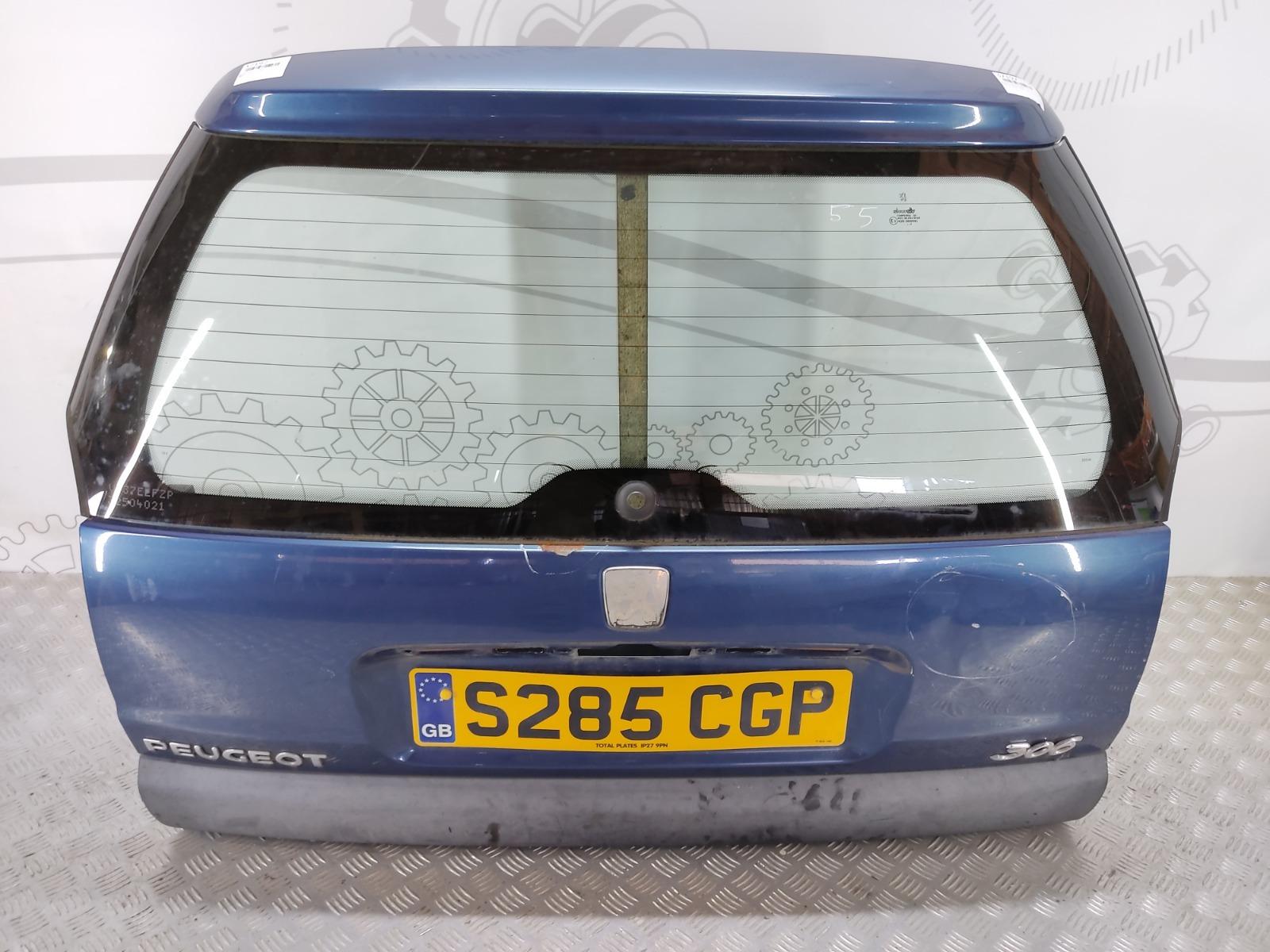 Крышка багажника (дверь 3-5) Peugeot 306 1.8 I 1998 (б/у)
