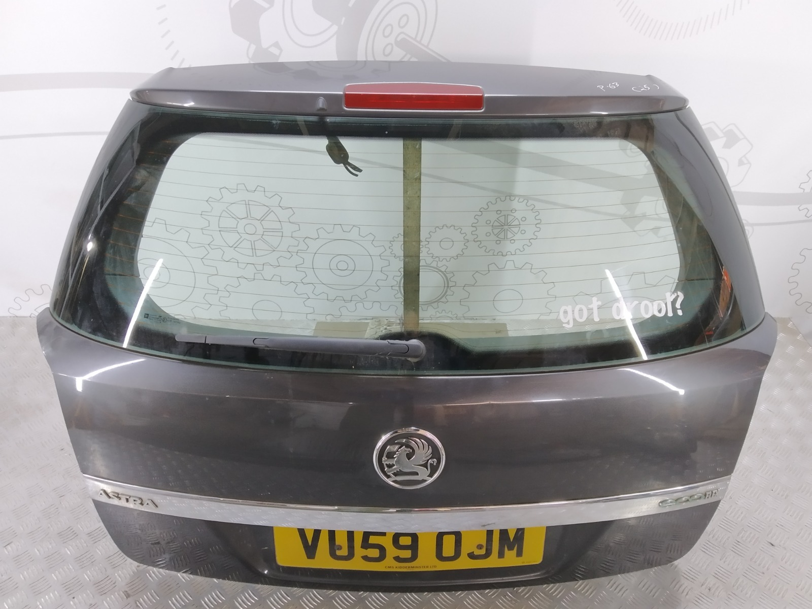 Крышка багажника (дверь 3-5) Opel Astra H 1.7 CDTI 2007 (б/у)