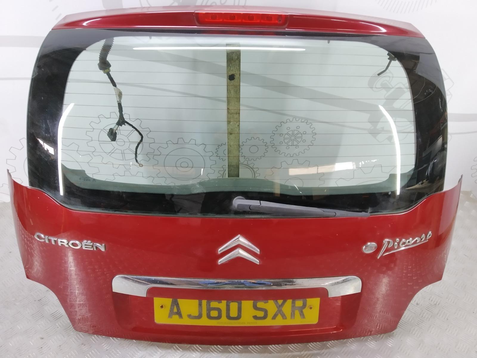 Крышка багажника (дверь 3-5) Citroen C3 Picasso 1.6 HDI 2010 (б/у)