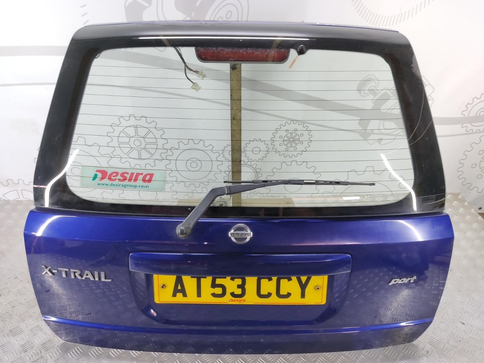 Крышка багажника (дверь 3-5) Nissan X-Trail T30 2.2 DCI 2003 (б/у)